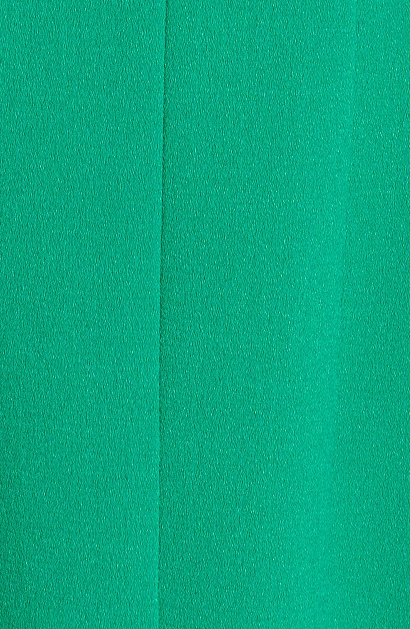 Sleeveless Pleat Panel Fit & Flare Dress,                             Alternate thumbnail 6, color,                             318