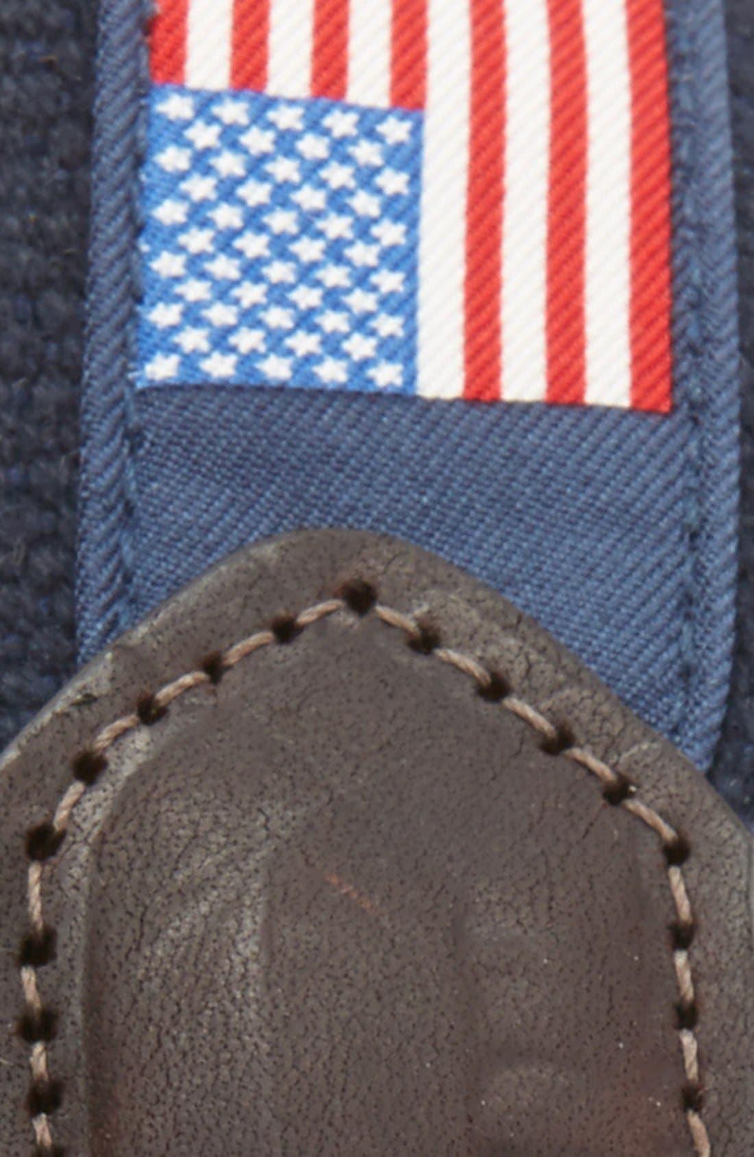 Flags Club Belt,                             Alternate thumbnail 2, color,                             414