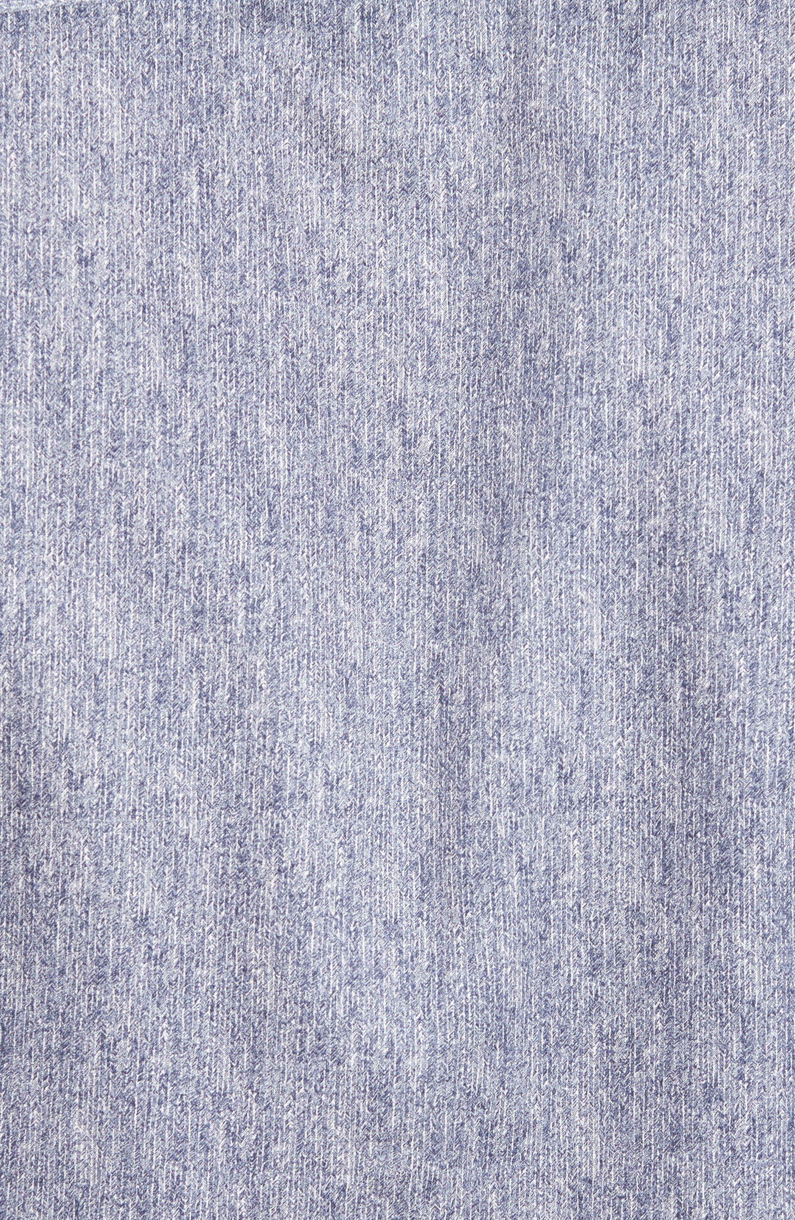 Lili Slim Fit Herringbone Sport Shirt,                             Alternate thumbnail 5, color,                             421