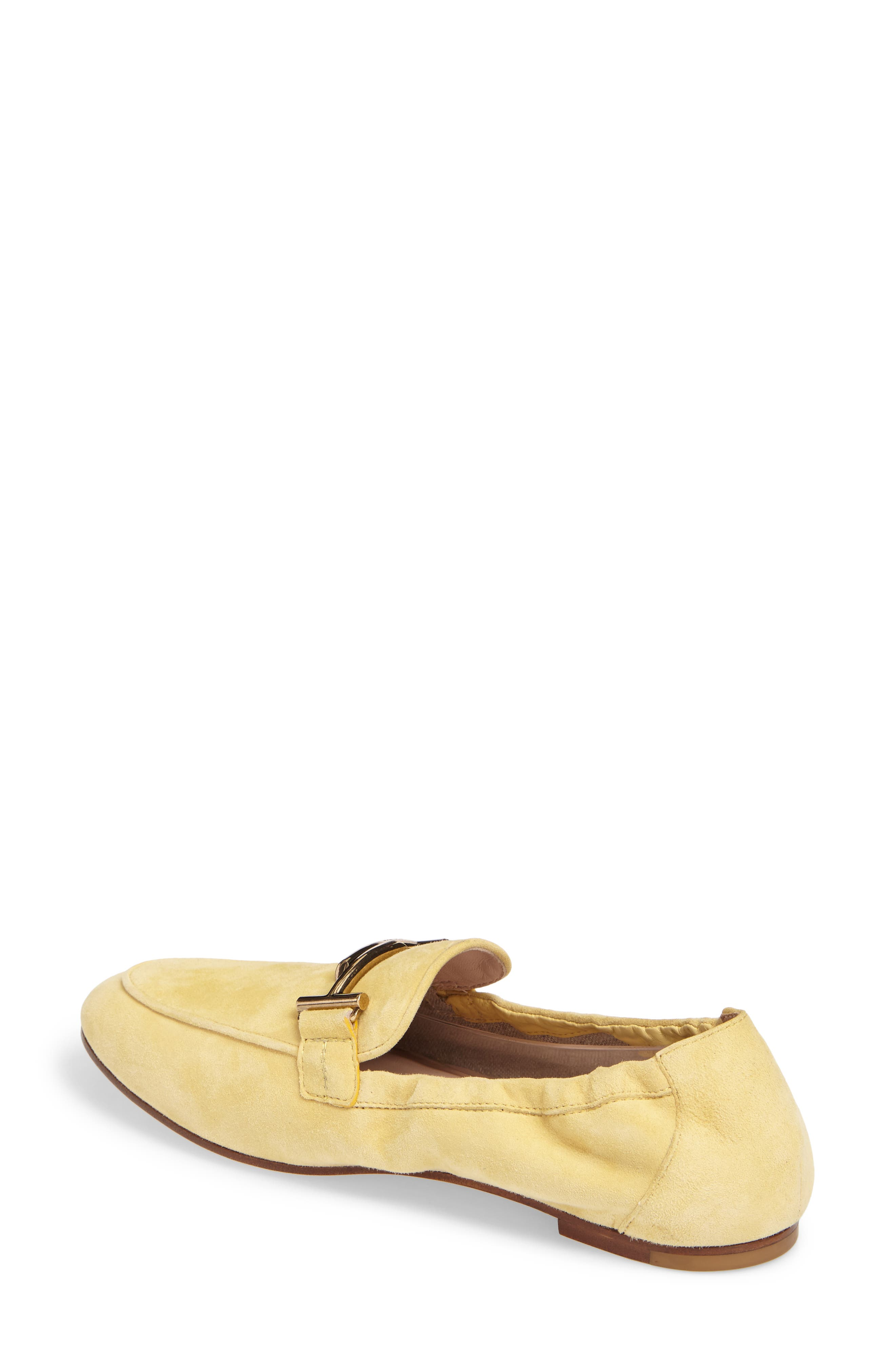 Double T Scrunch Loafer,                             Alternate thumbnail 8, color,