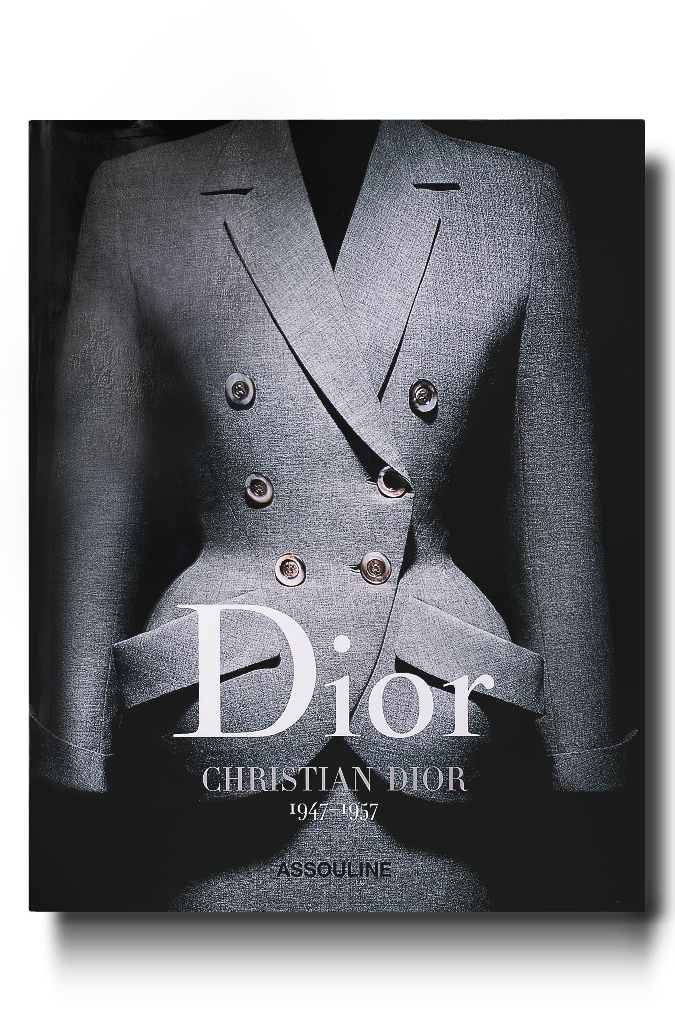 'Dior by Christian Dior' Book,                             Main thumbnail 1, color,                             GREY