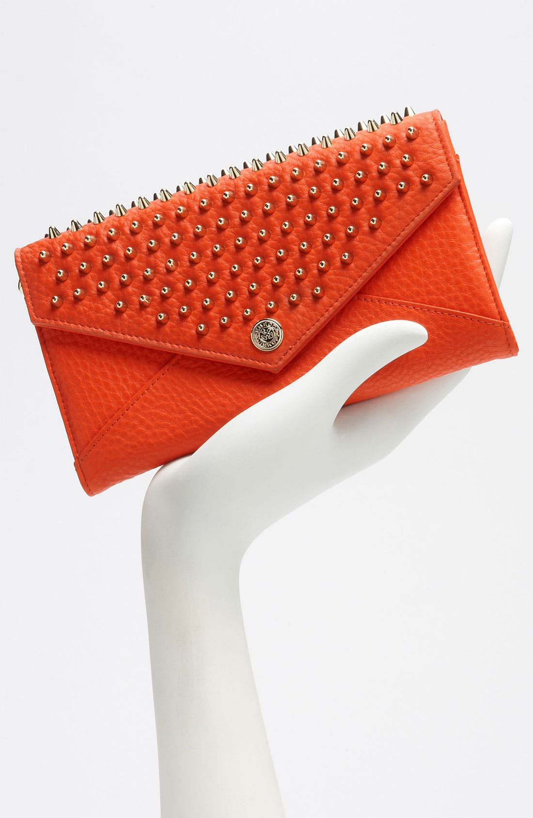 Studded Wallet on a Chain,                             Alternate thumbnail 3, color,                             820