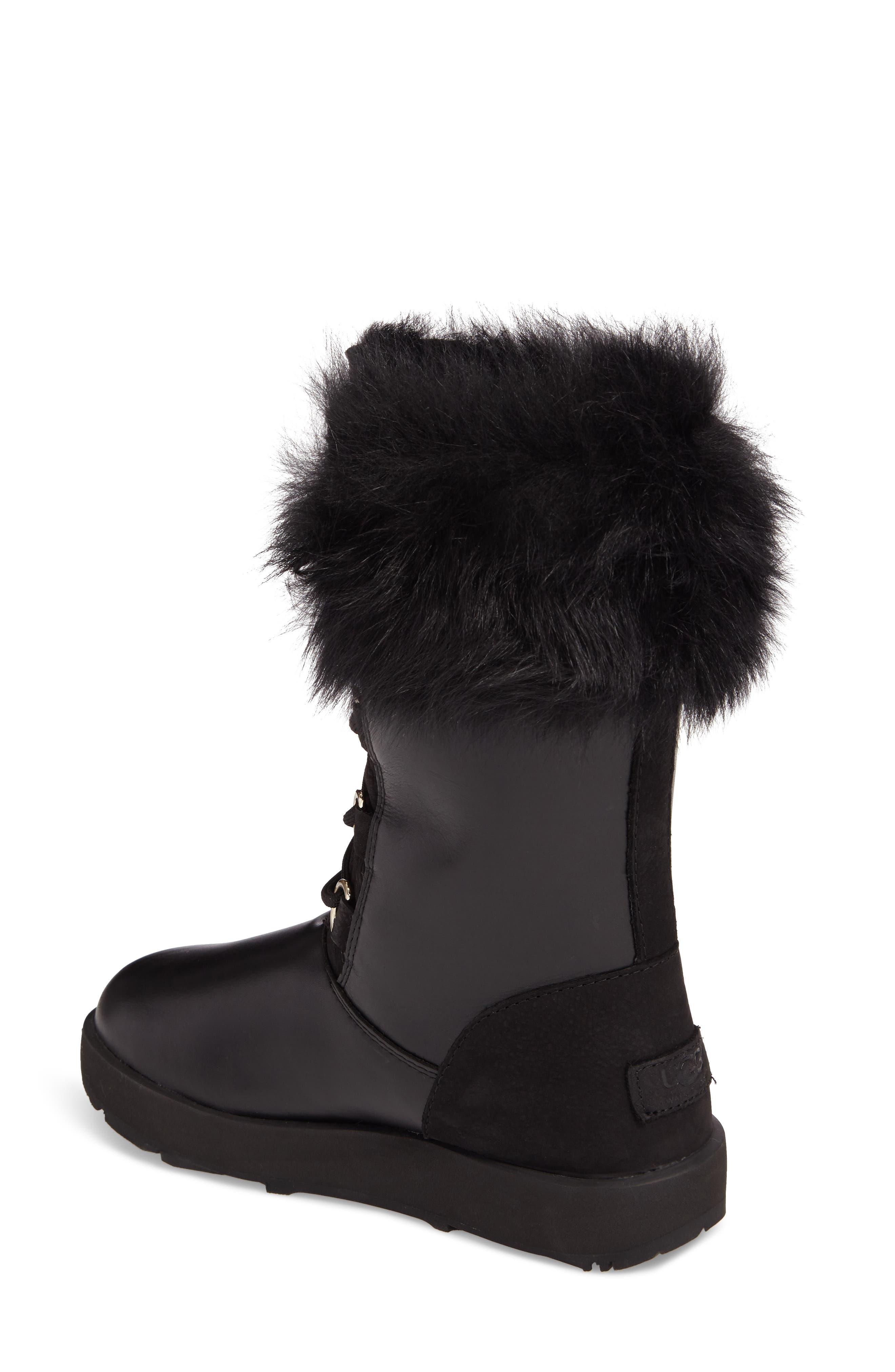 Aya Waterproof Snow Boot,                             Alternate thumbnail 2, color,                             001