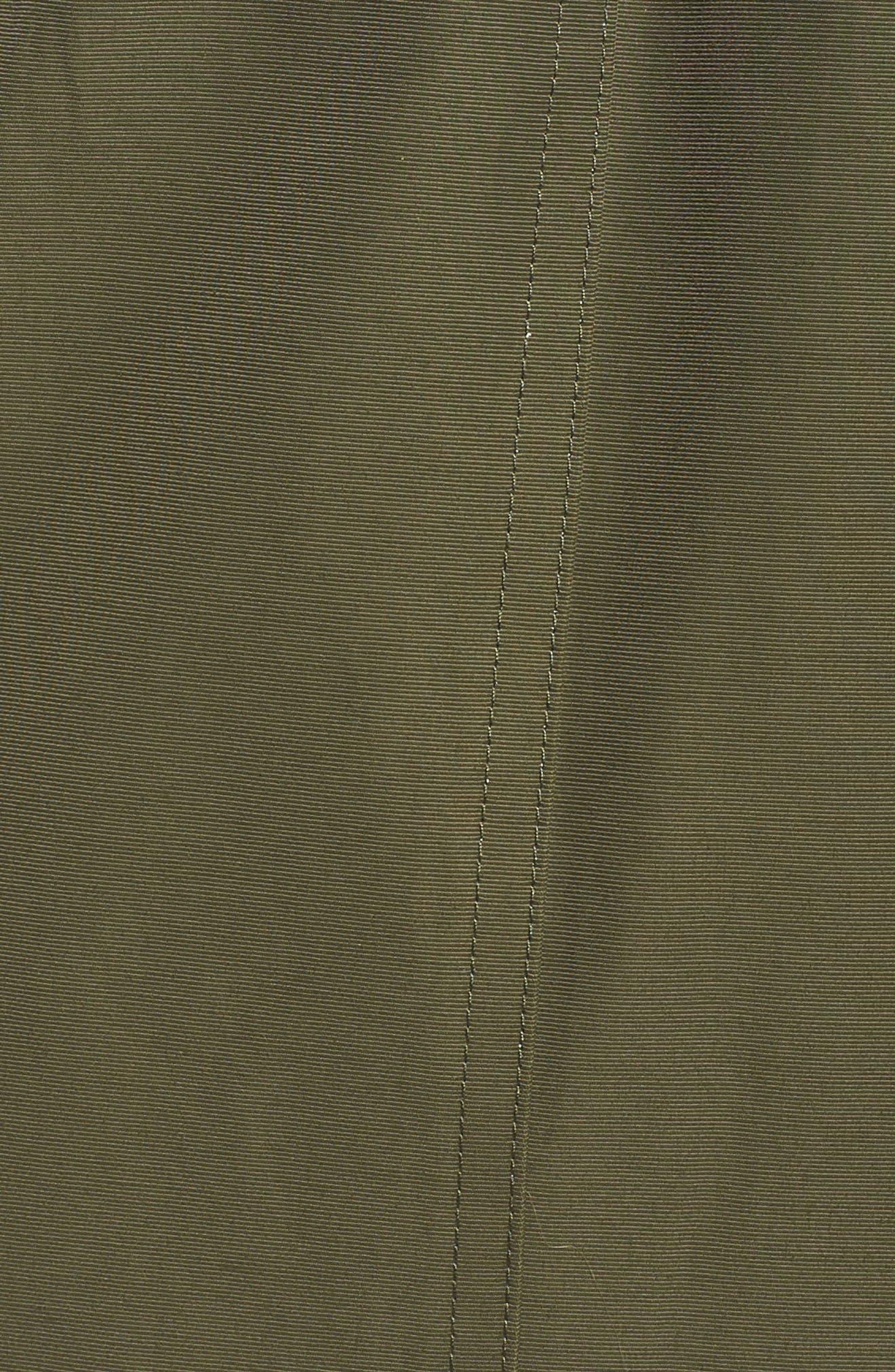 Saxton Waterproof Down Parka with Faux Fur Trim,                             Alternate thumbnail 7, color,                             300