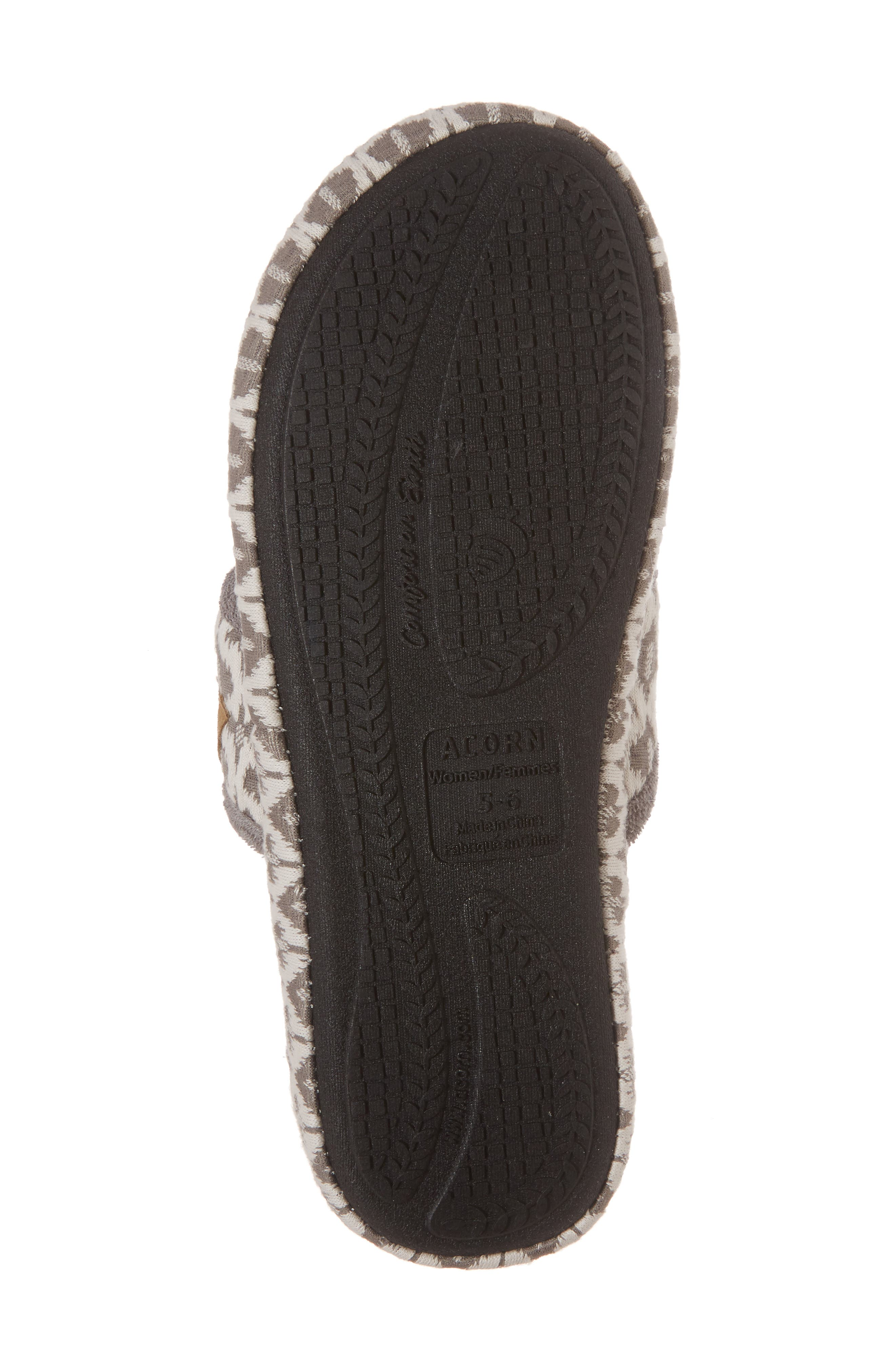 'Summerweight' Slipper,                             Alternate thumbnail 6, color,                             ASH TRIBAL