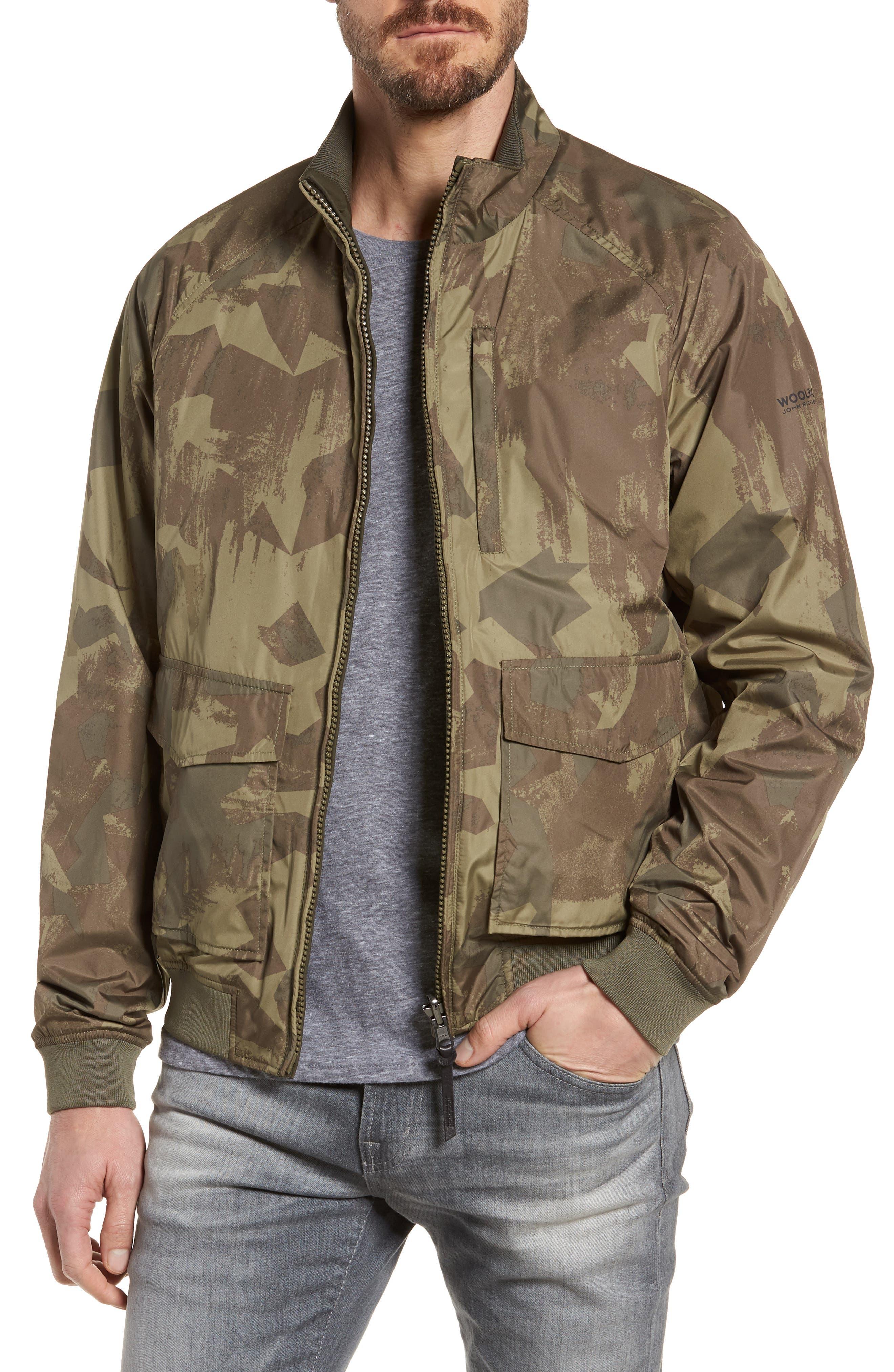 & Bros. Shore Reversible Bomber Jacket,                         Main,                         color,