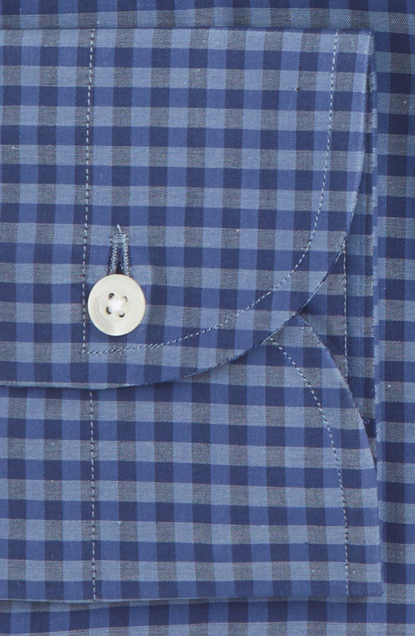 Slim Fit Check Dress Shirt,                             Alternate thumbnail 2, color,                             401