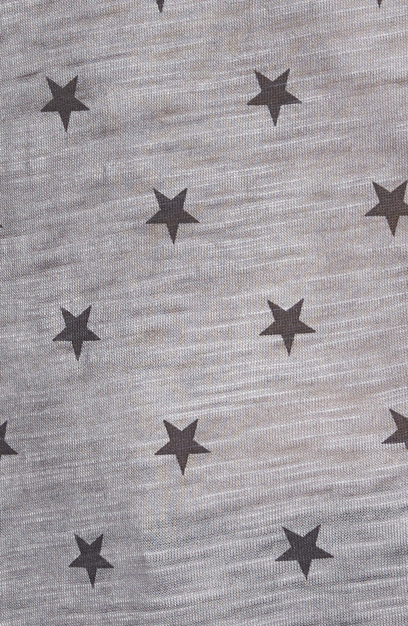Star Tee,                             Alternate thumbnail 6, color,                             GREY