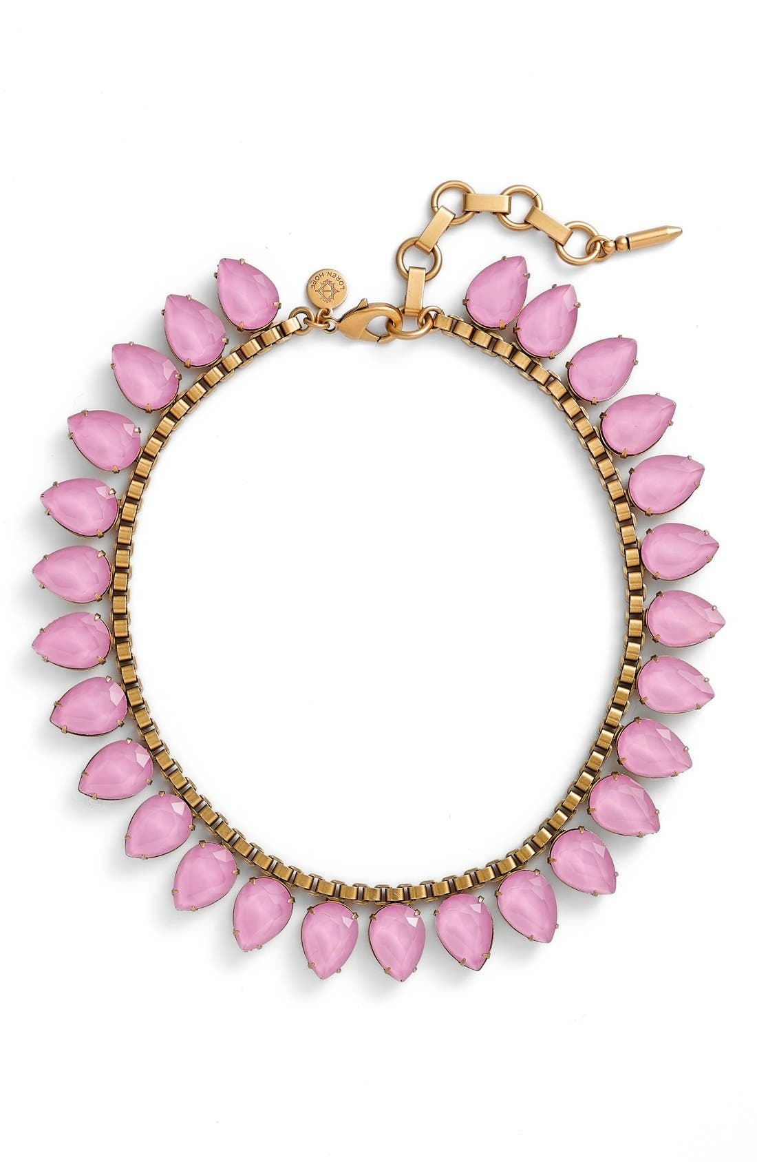'Sylvia' Crystal Collar Necklace,                             Main thumbnail 9, color,