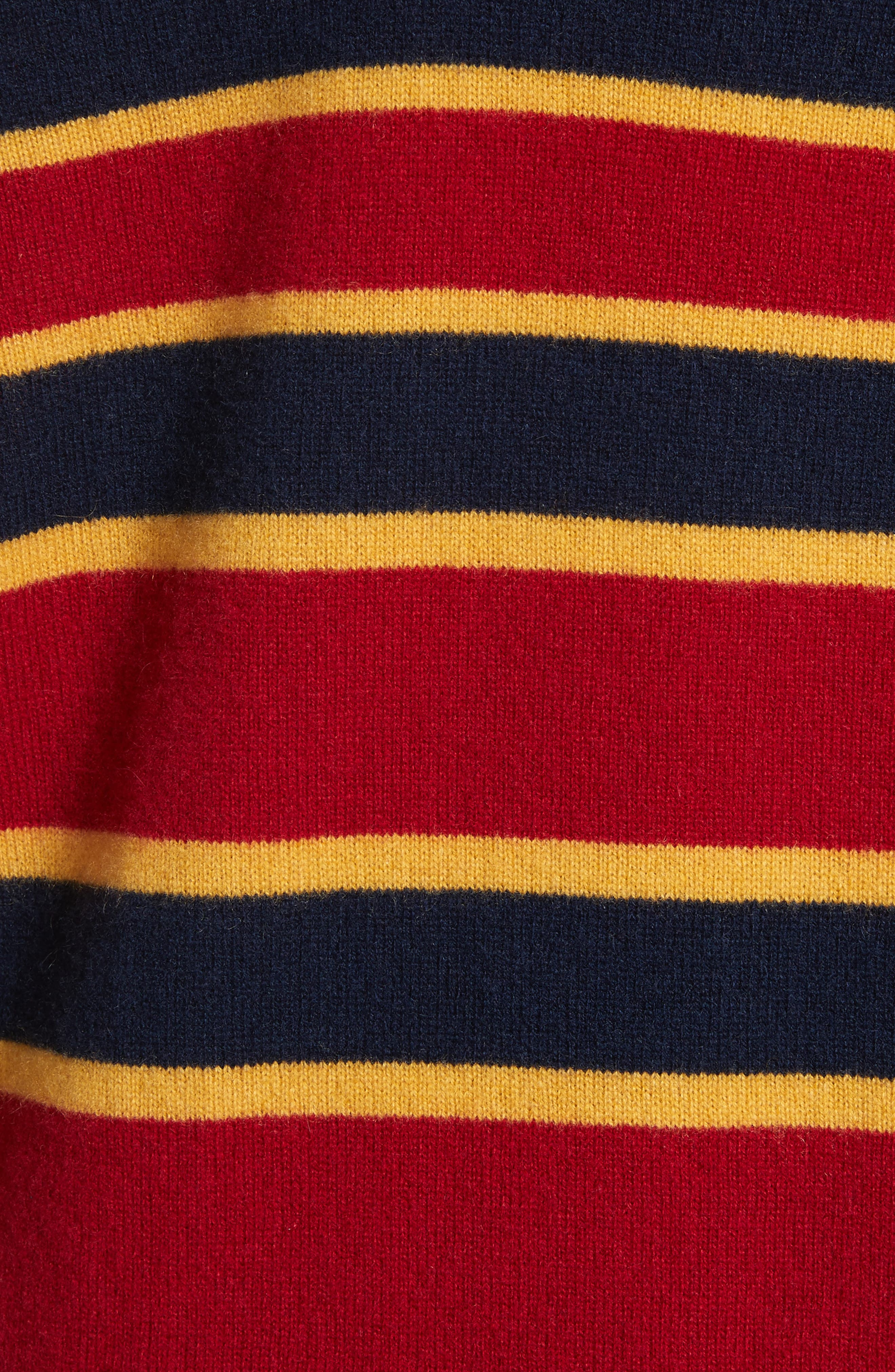 Dorothy Stripe Cashmere Sweater,                             Alternate thumbnail 5, color,                             402