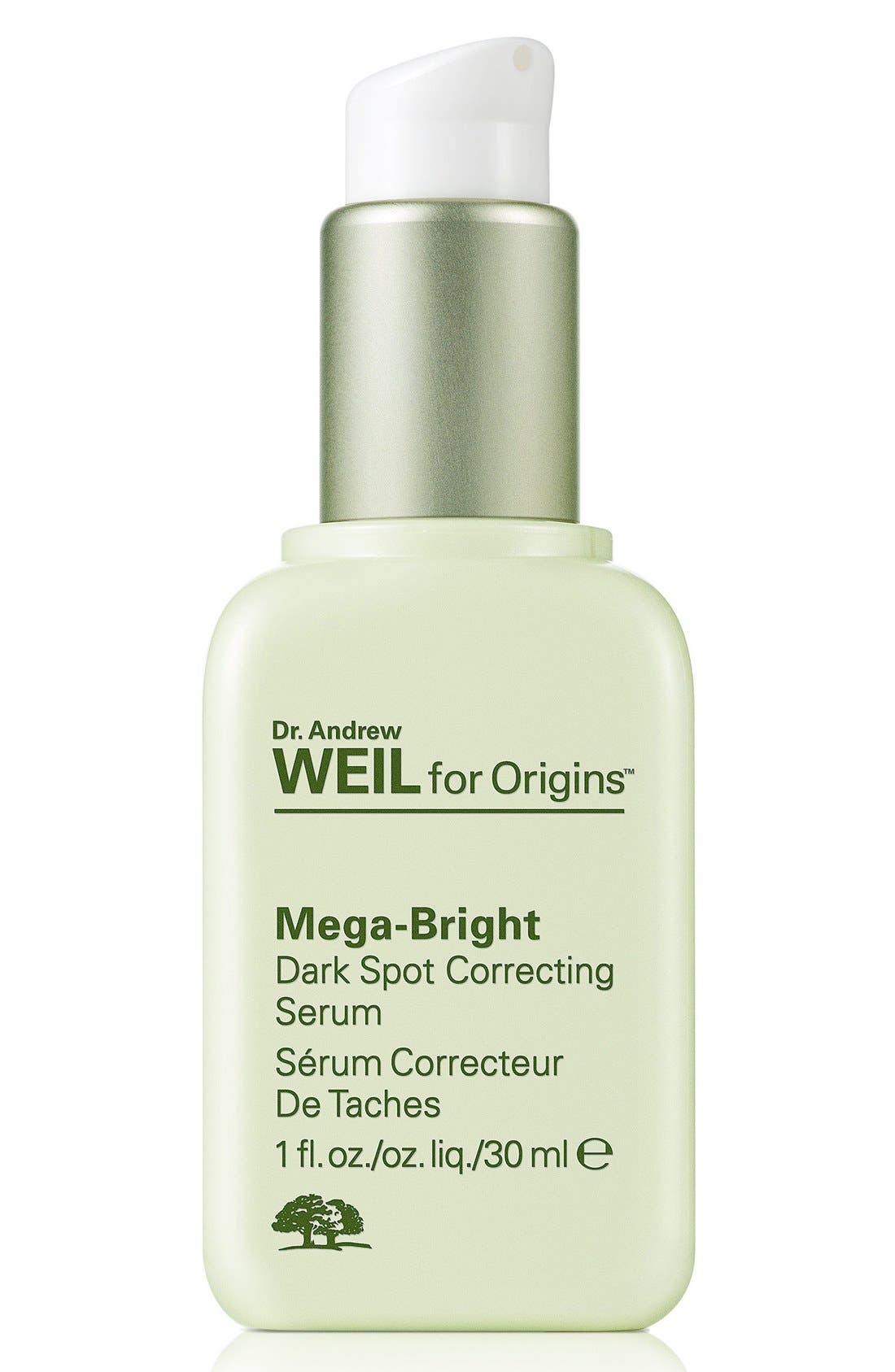 Dr. Andrew Weil for Origins<sup>™</sup> Mega-Bright Dark Spot Correction Serum,                             Alternate thumbnail 4, color,                             NO COLOR