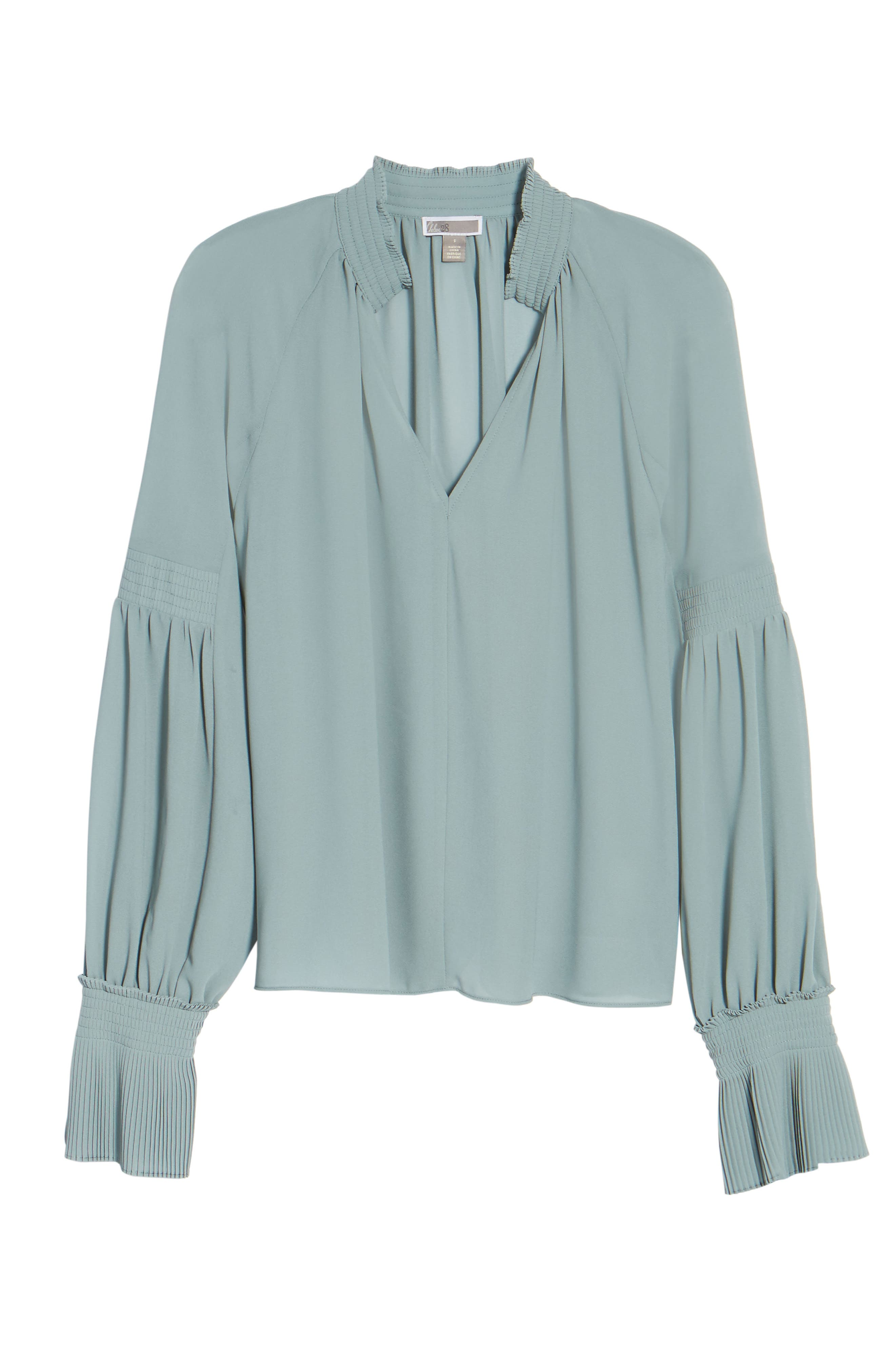 Flare Cuff Top,                             Alternate thumbnail 6, color,                             440