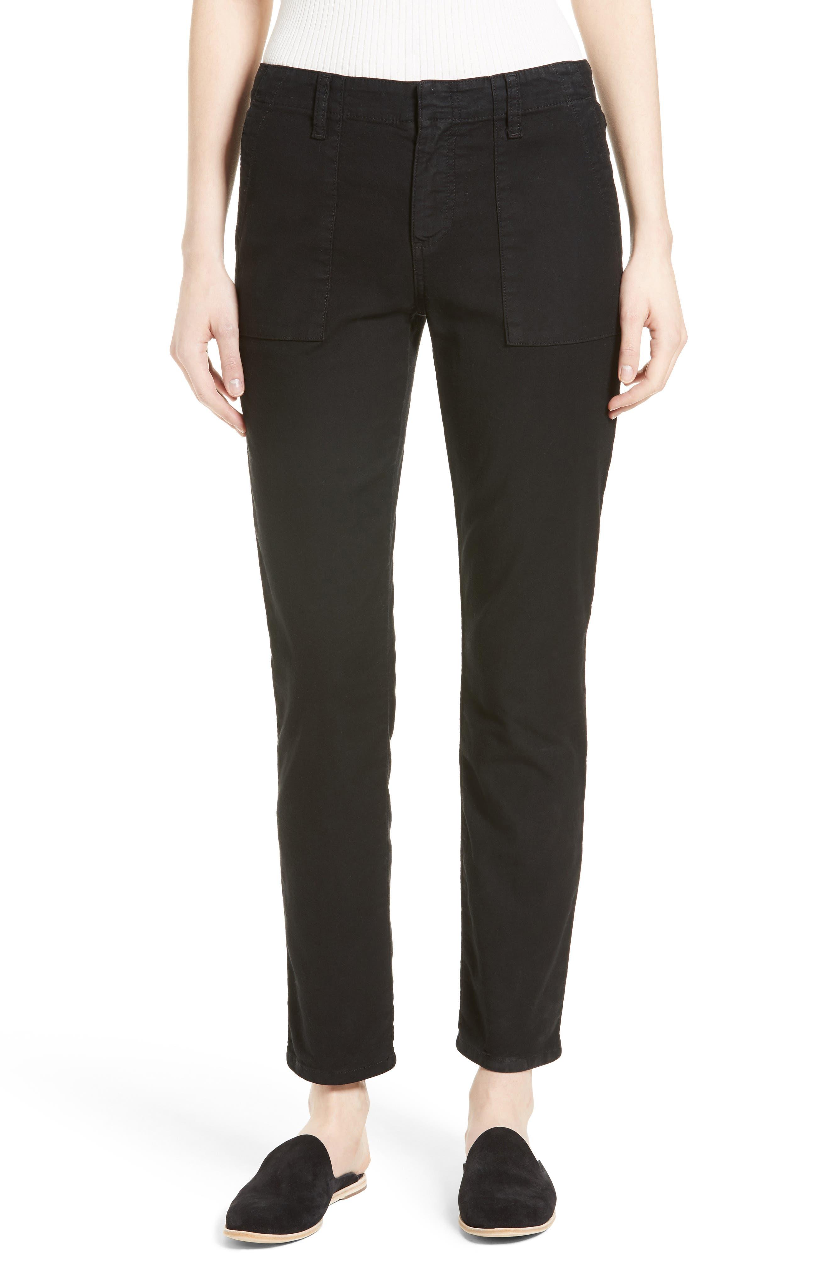 Painter Cotton & Linen Pants,                         Main,                         color,