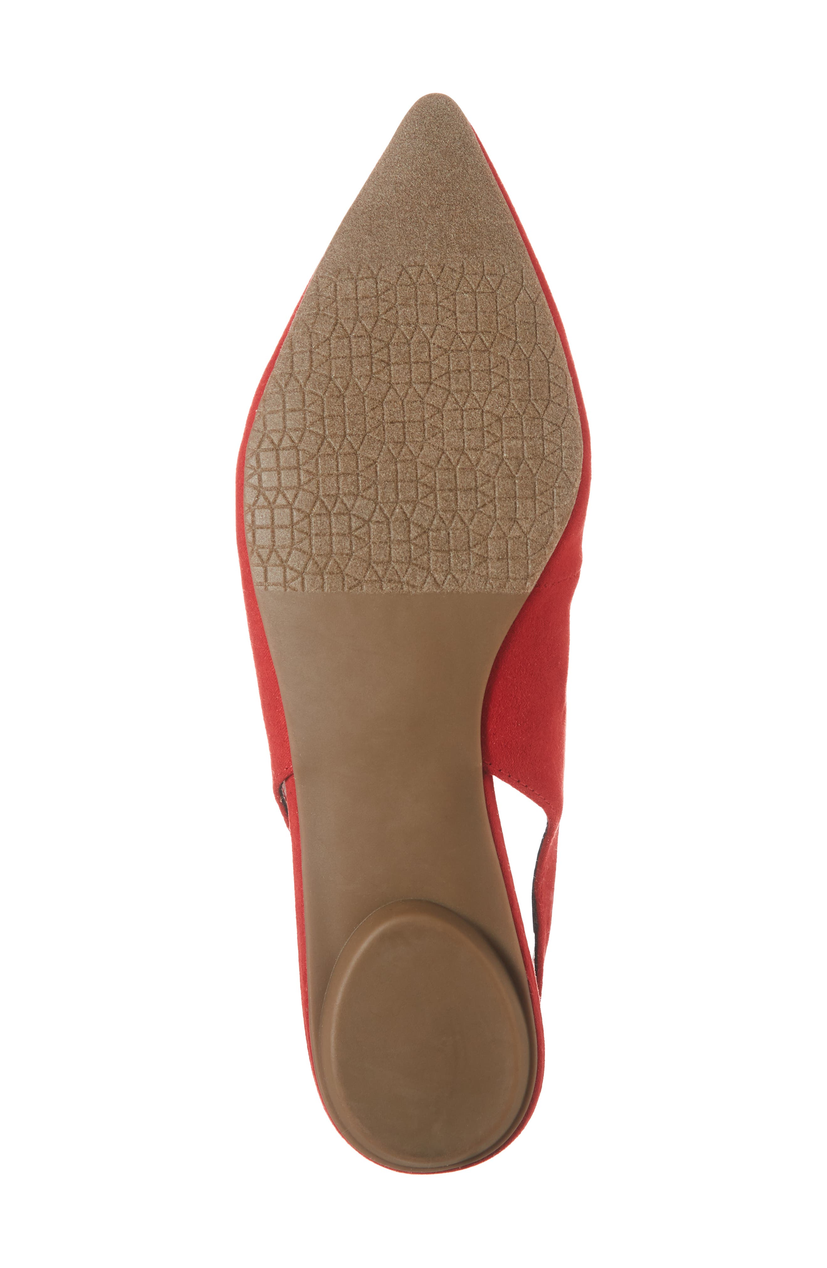 Sandra Slingback Flat,                             Alternate thumbnail 6, color,                             600