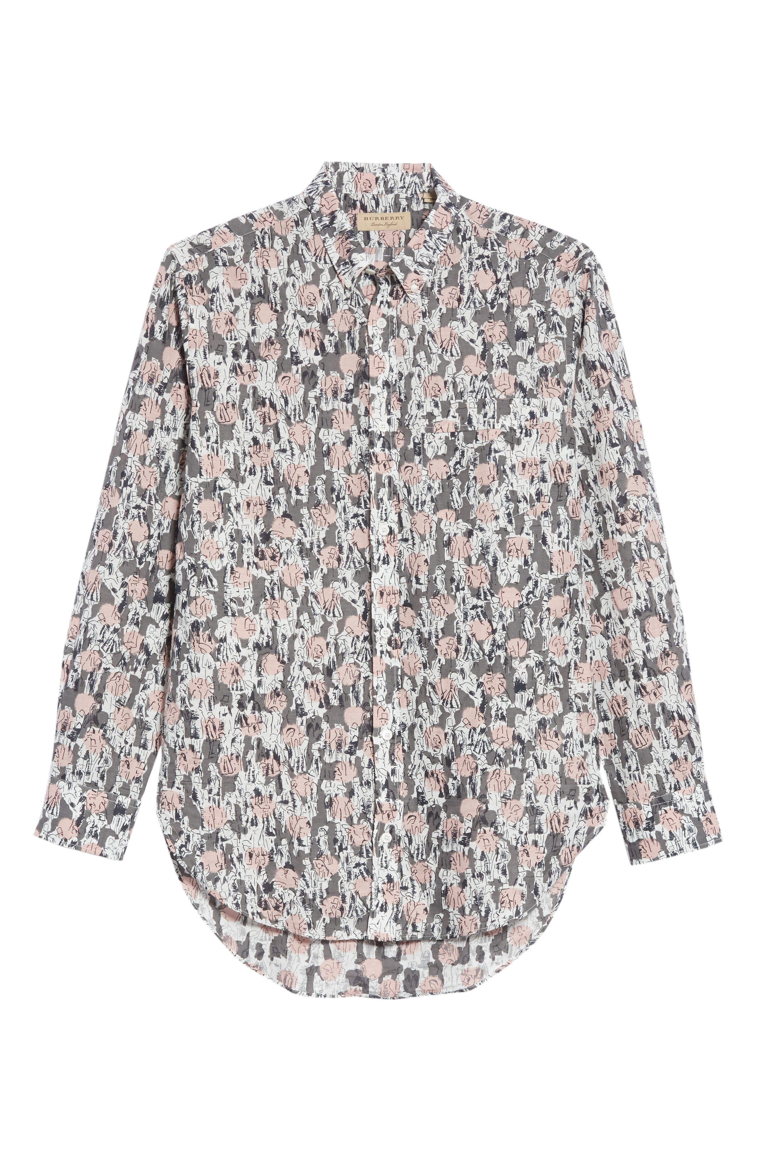 Strenton Print Shirt,                             Alternate thumbnail 6, color,                             032