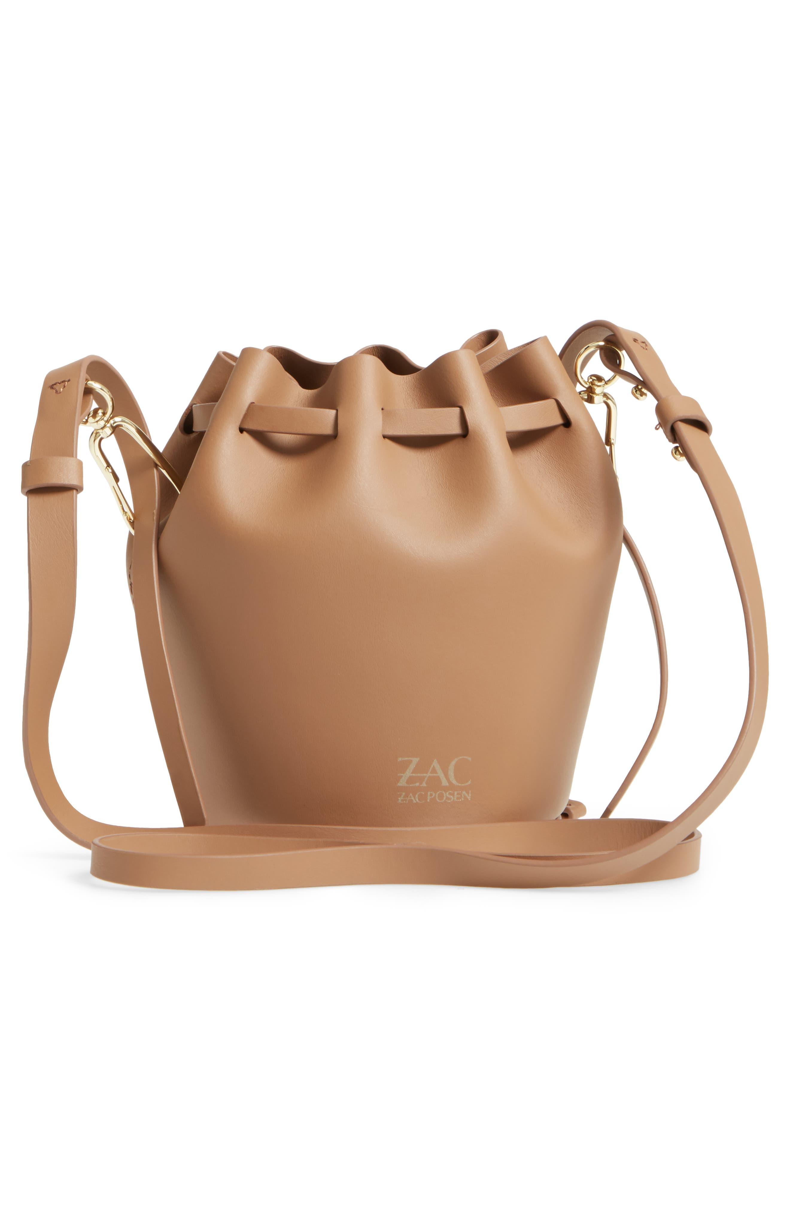 Mini Belay Calfskin Leather Drawstring Bag,                             Alternate thumbnail 7, color,