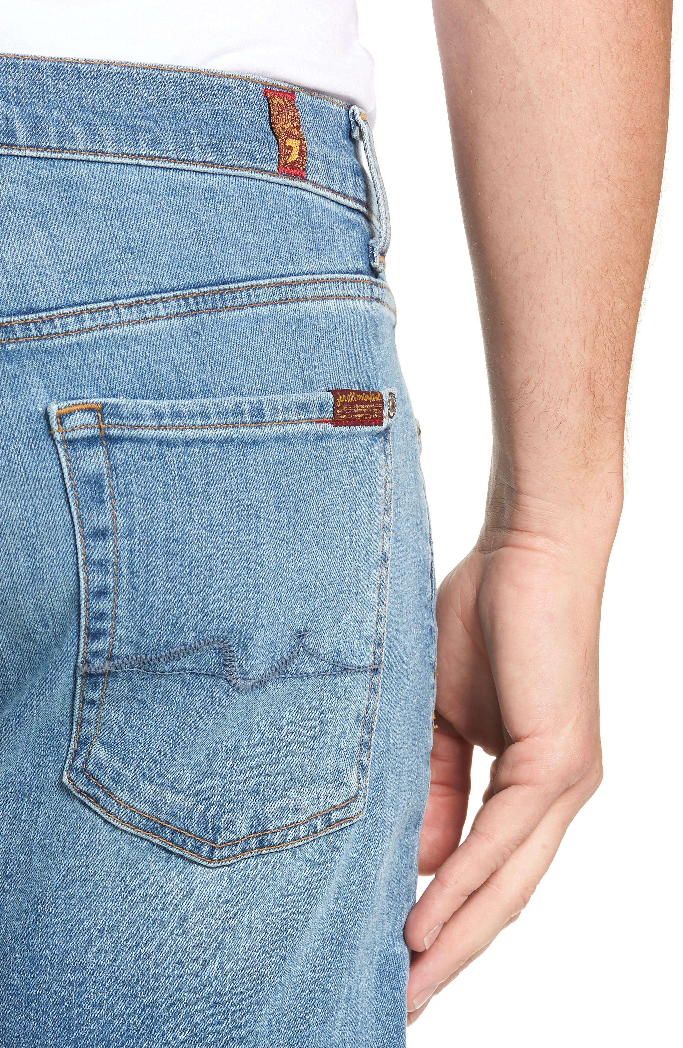 Austyn Relaxed Fit Jeans,                             Alternate thumbnail 4, color,                             PROSE