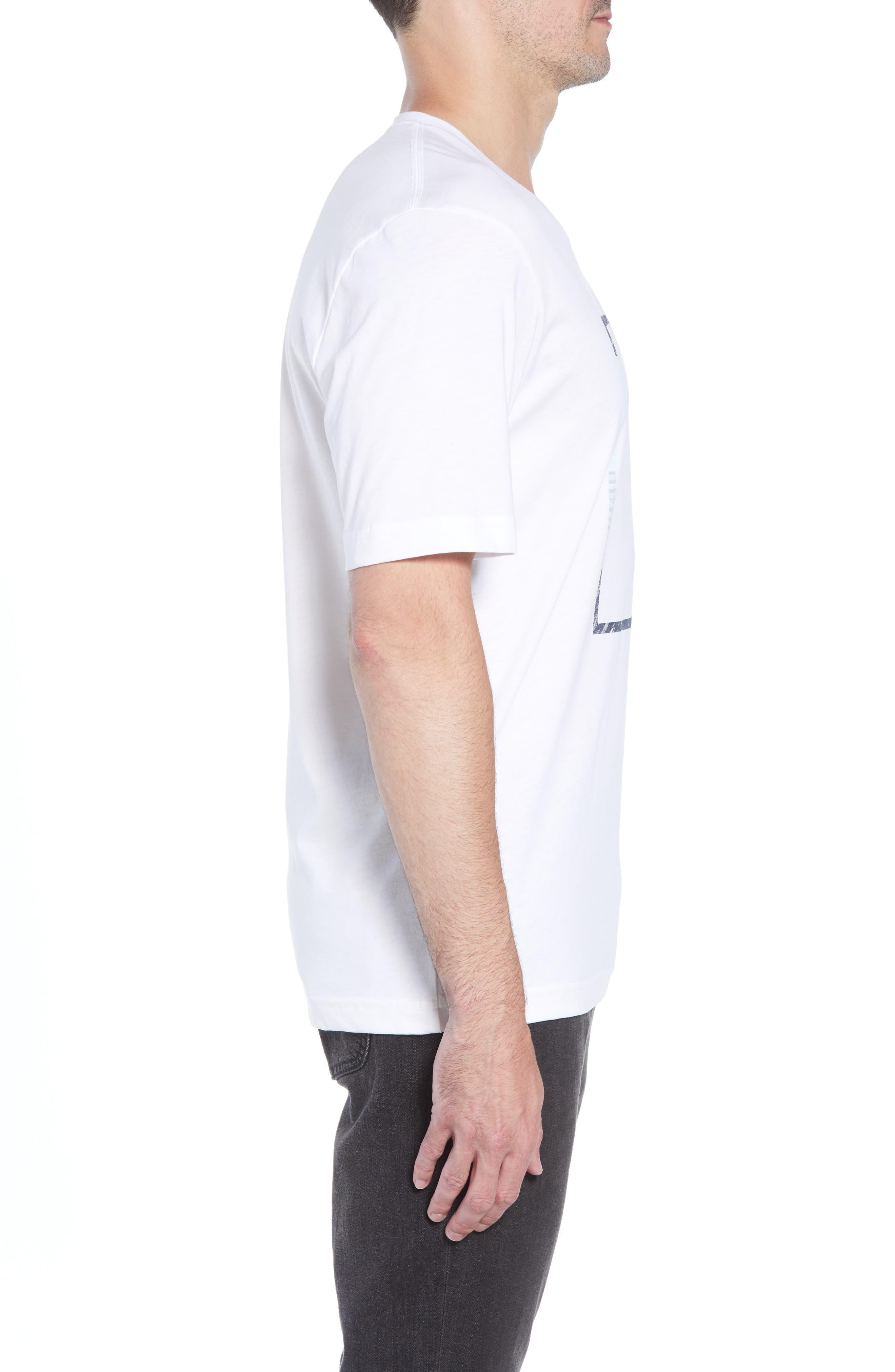That Box Crewneck T-Shirt,                             Alternate thumbnail 3, color,                             100