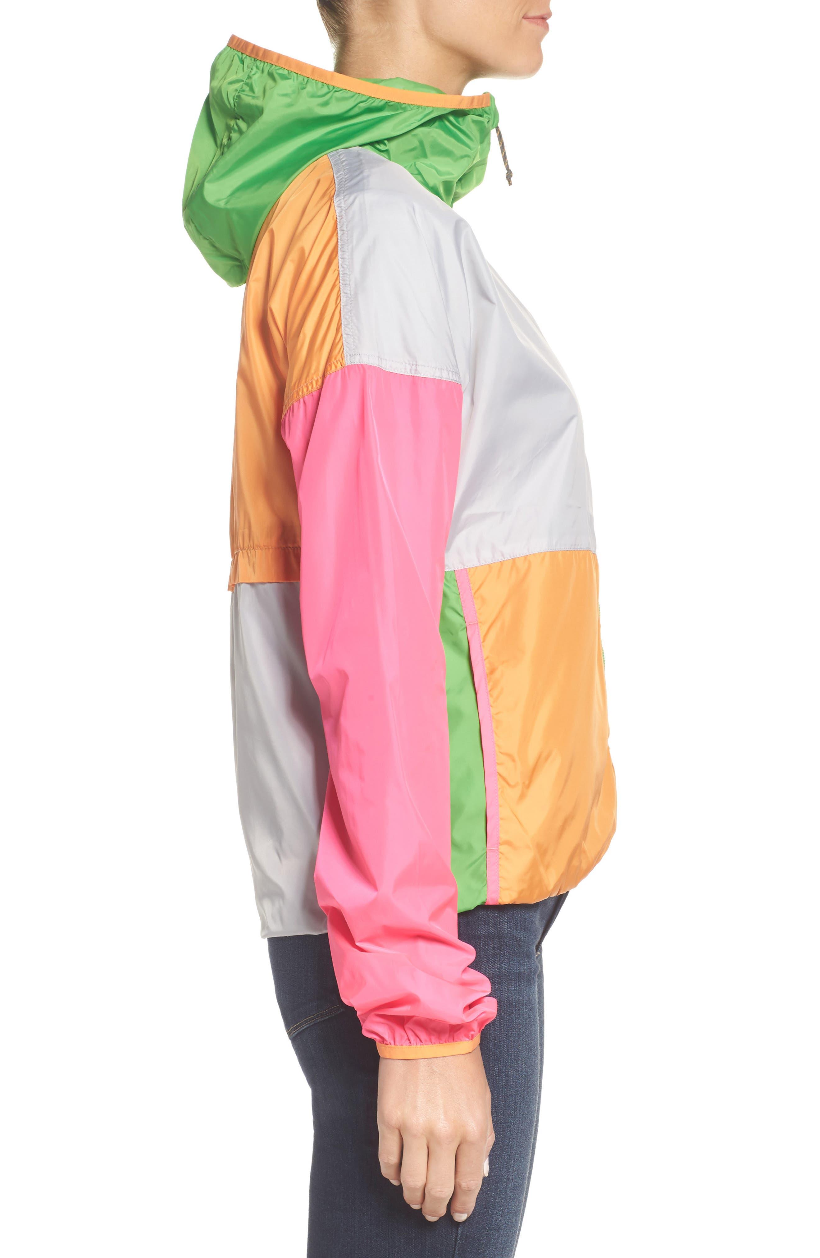 Teca Packable Water Resistant Windbreaker Jacket,                             Alternate thumbnail 17, color,