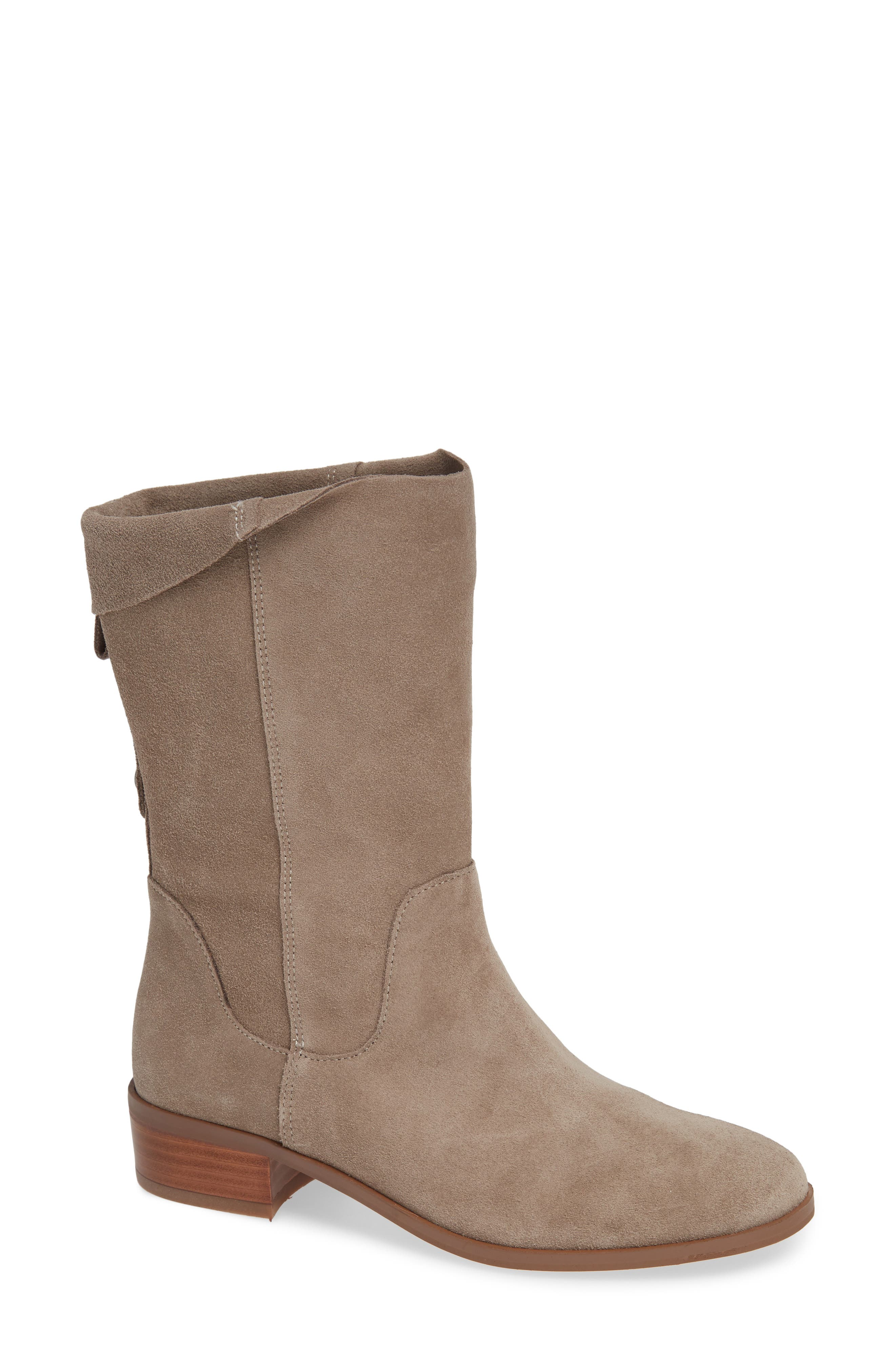 Calanth Bootie,                         Main,                         color, MUSHROOM SUEDE