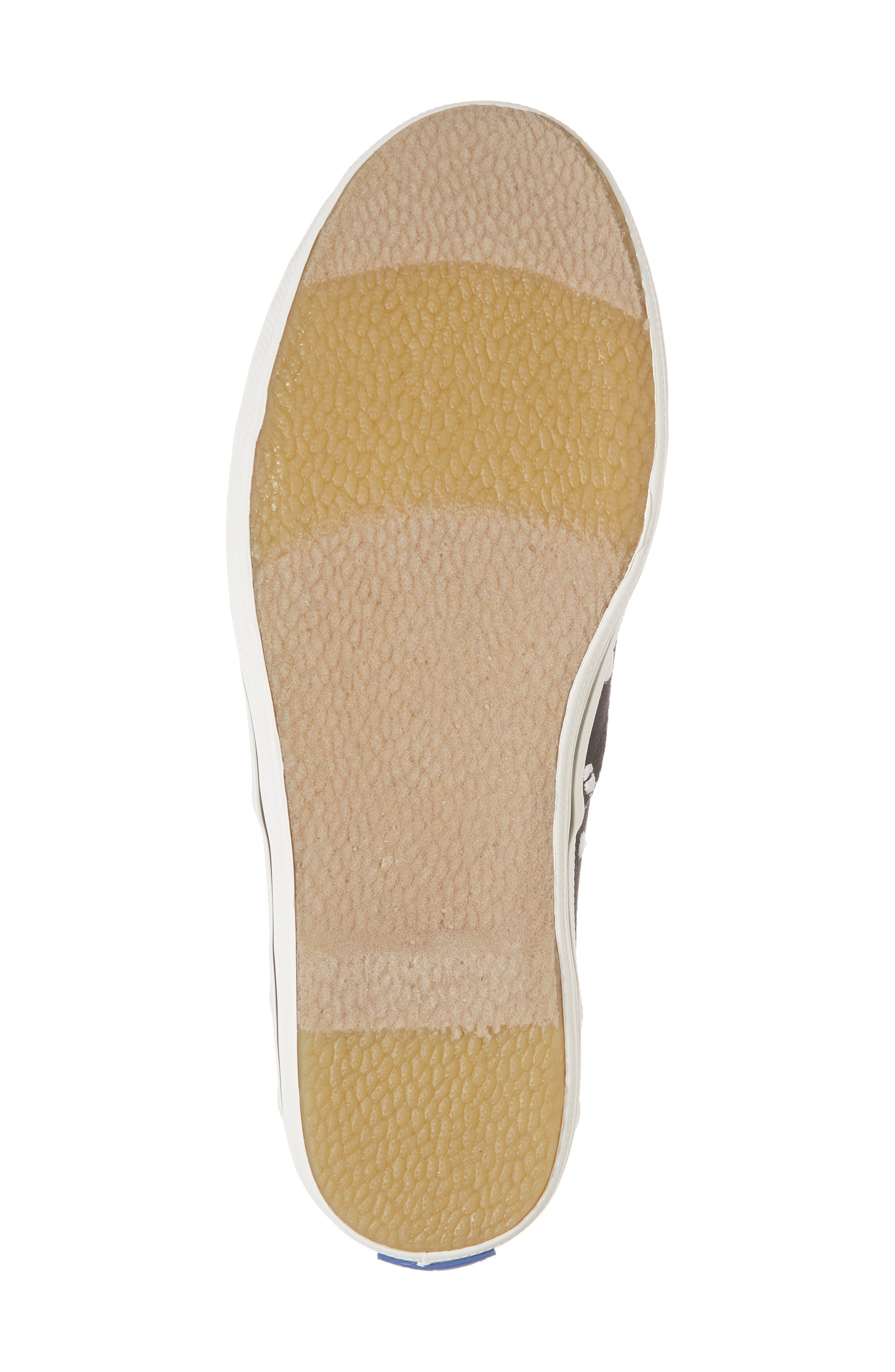x kate spade new york champion polka dot lace-up shoe,                             Alternate thumbnail 6, color,                             BLACK DANCING DOT