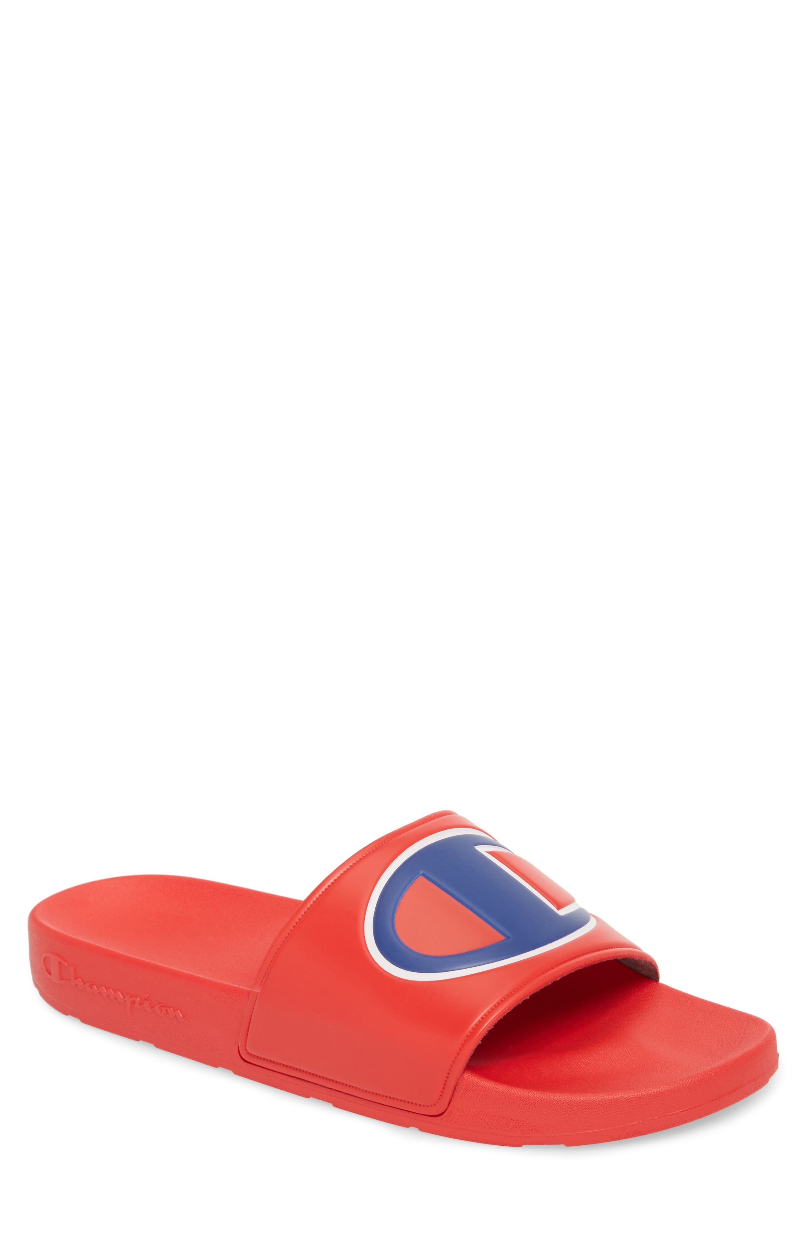 IPO Sports Slide,                             Main thumbnail 1, color,                             RED