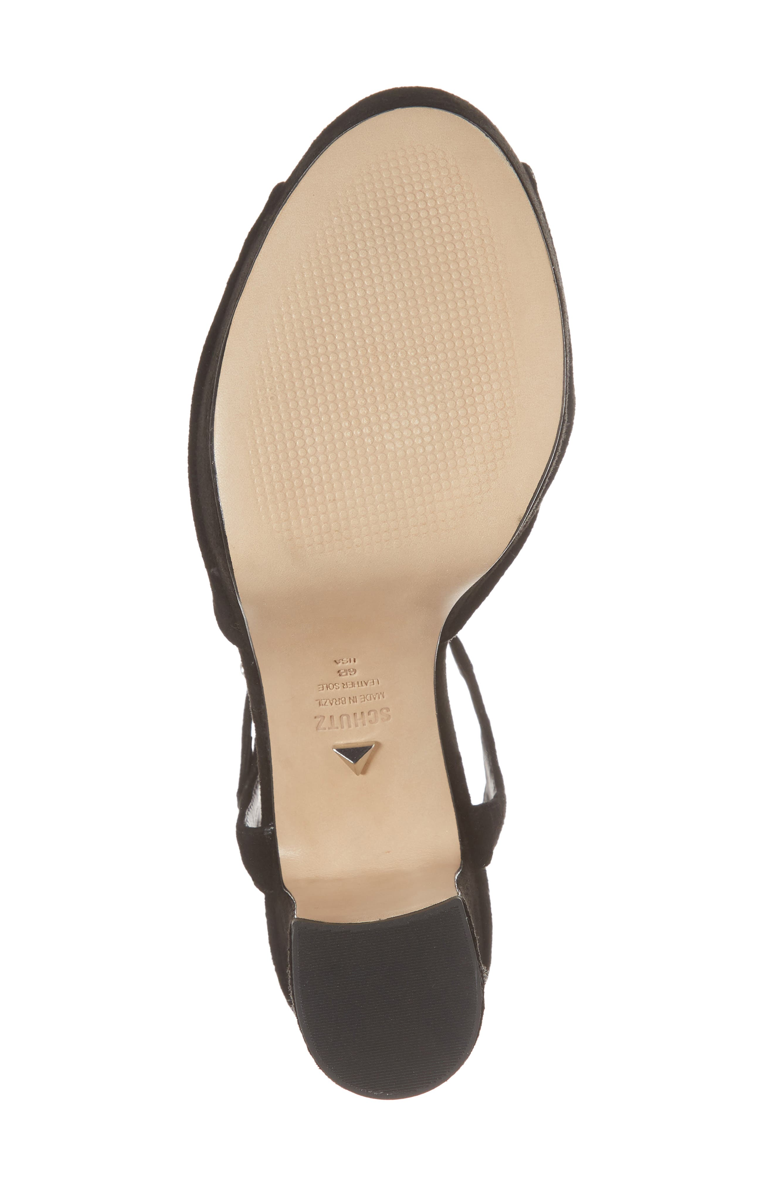 Thalyta Platform Sandal,                             Alternate thumbnail 6, color,                             001