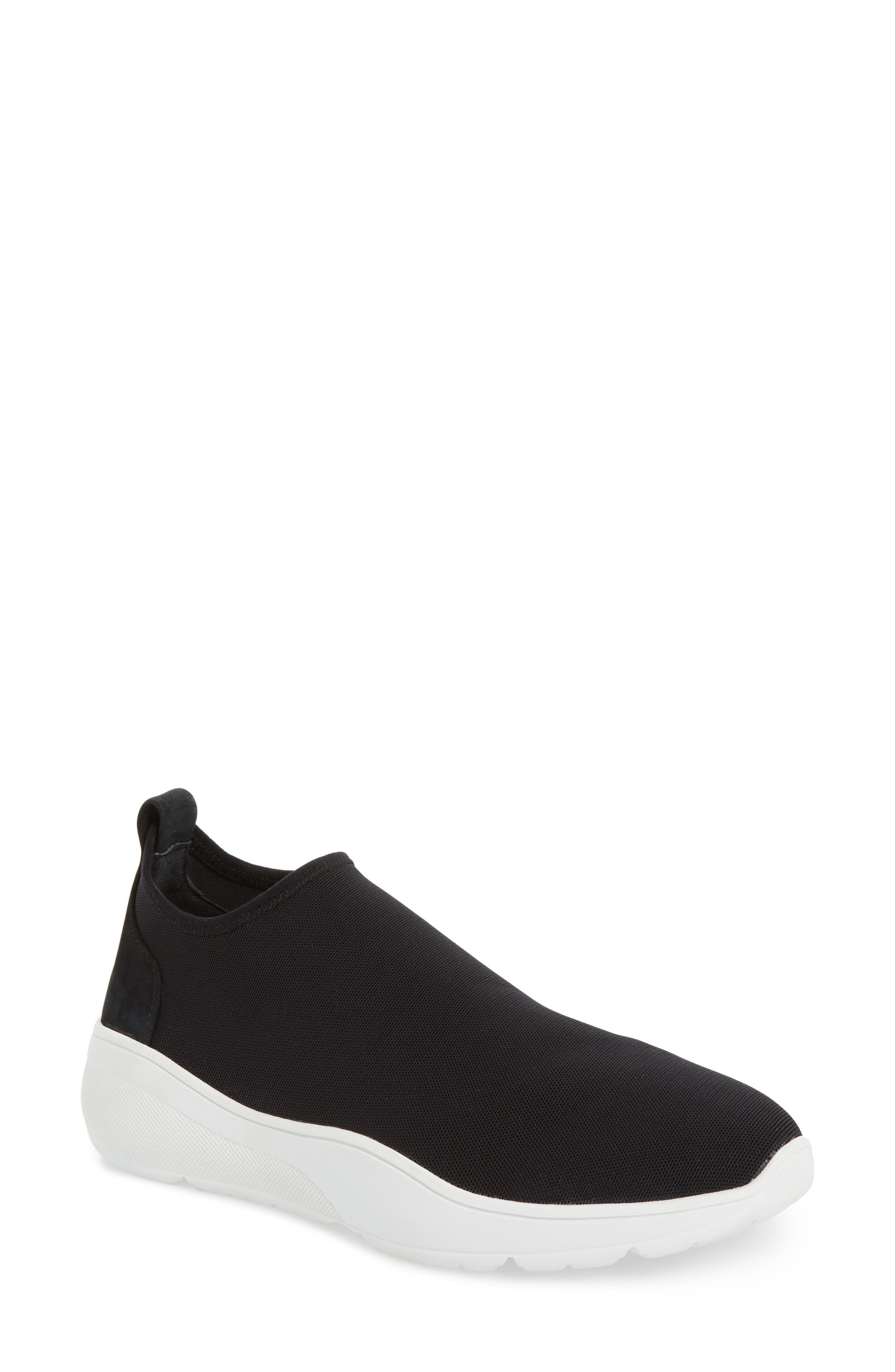 KATE SPADE NEW YORK,                             bradlee slip-on sneaker,                             Main thumbnail 1, color,                             001
