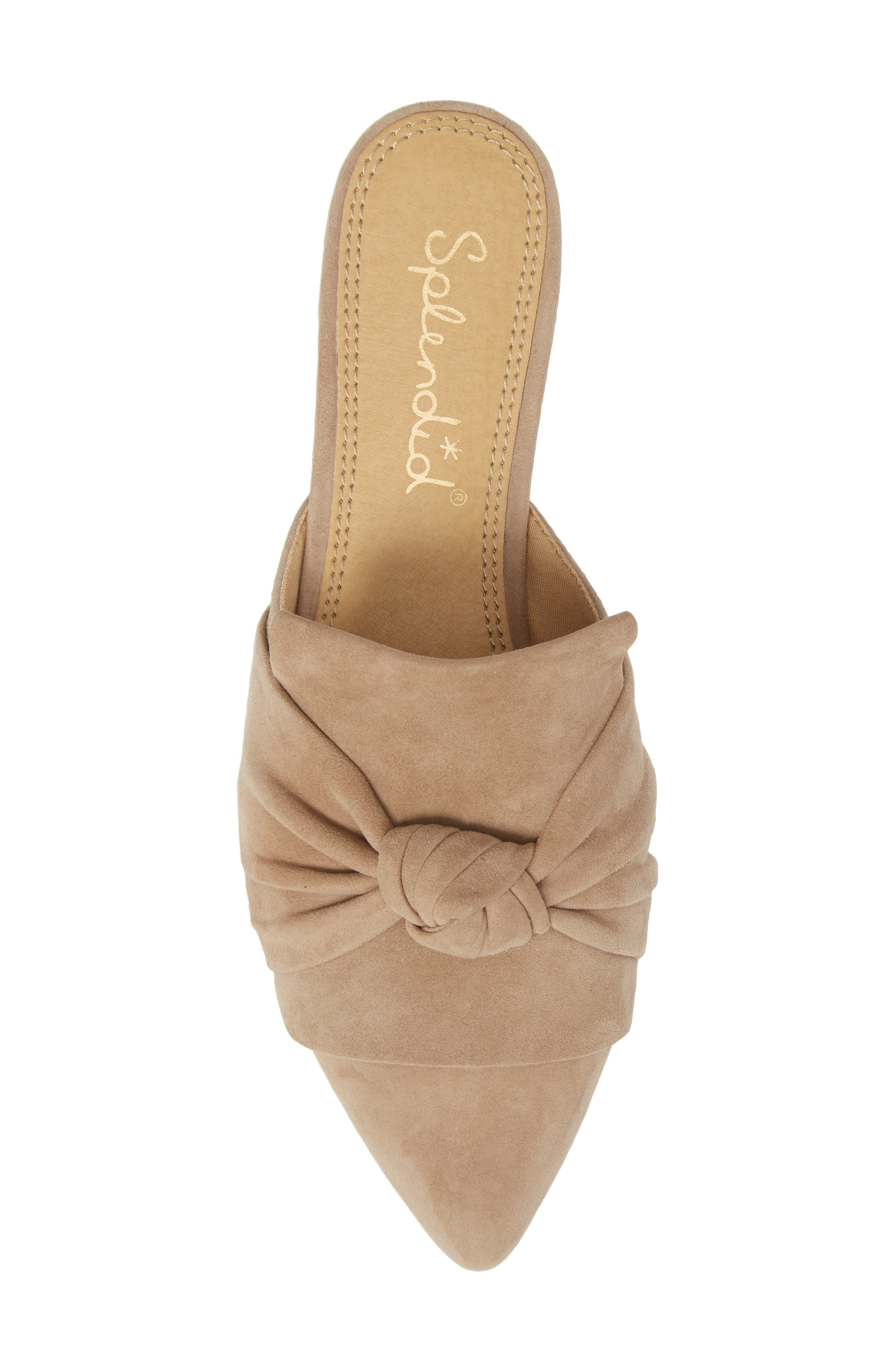 Bassett Knotted Pointy Toe Mule,                             Alternate thumbnail 14, color,