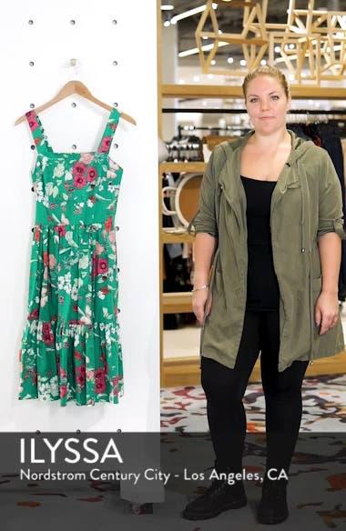Ruffle Hem Cotton Fit & Flare Sundress, sales video thumbnail