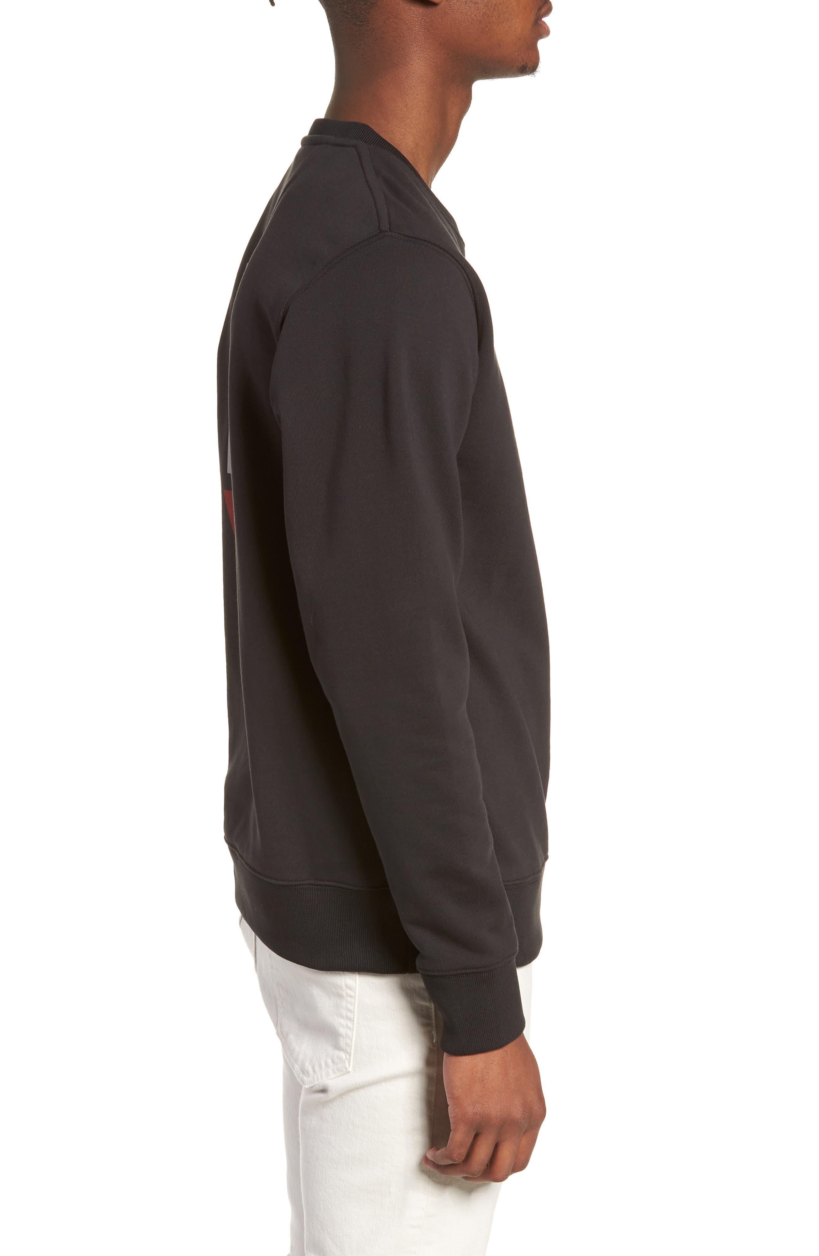 Bowery NY Sweatshirt,                             Alternate thumbnail 3, color,                             001