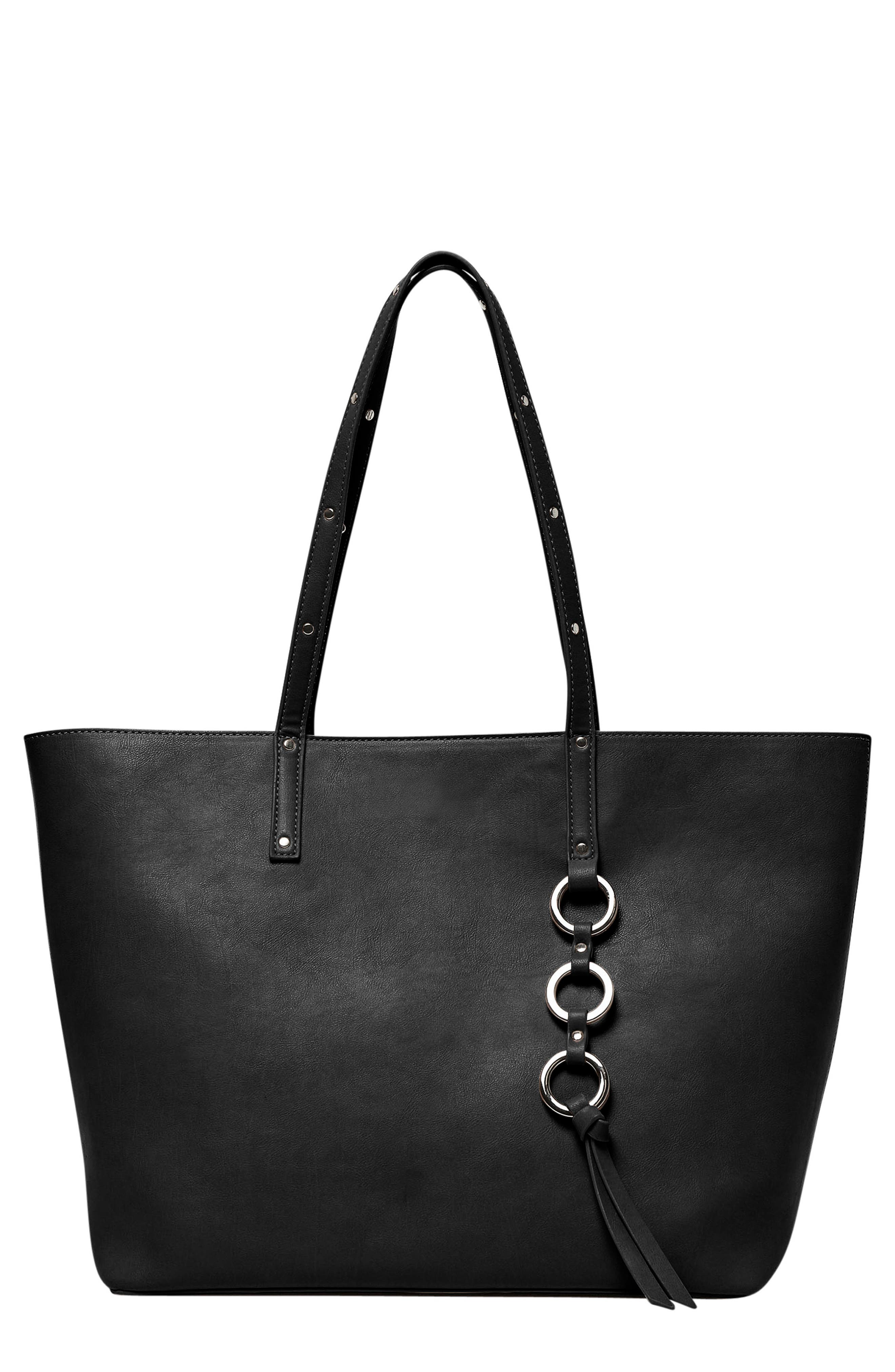 Wild Fire Vegan Leather Tote,                             Main thumbnail 2, color,
