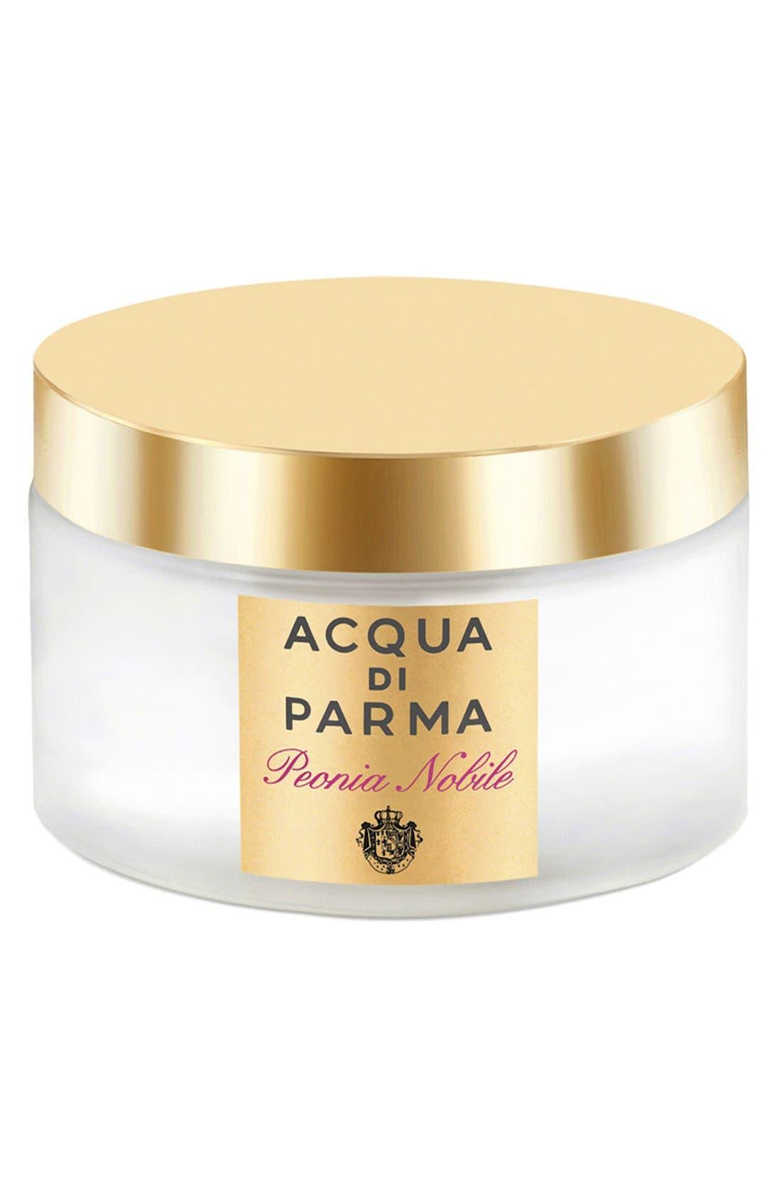 'Peonia Nobile' Luxurious Body Cream,                             Main thumbnail 1, color,                             NO COLOR