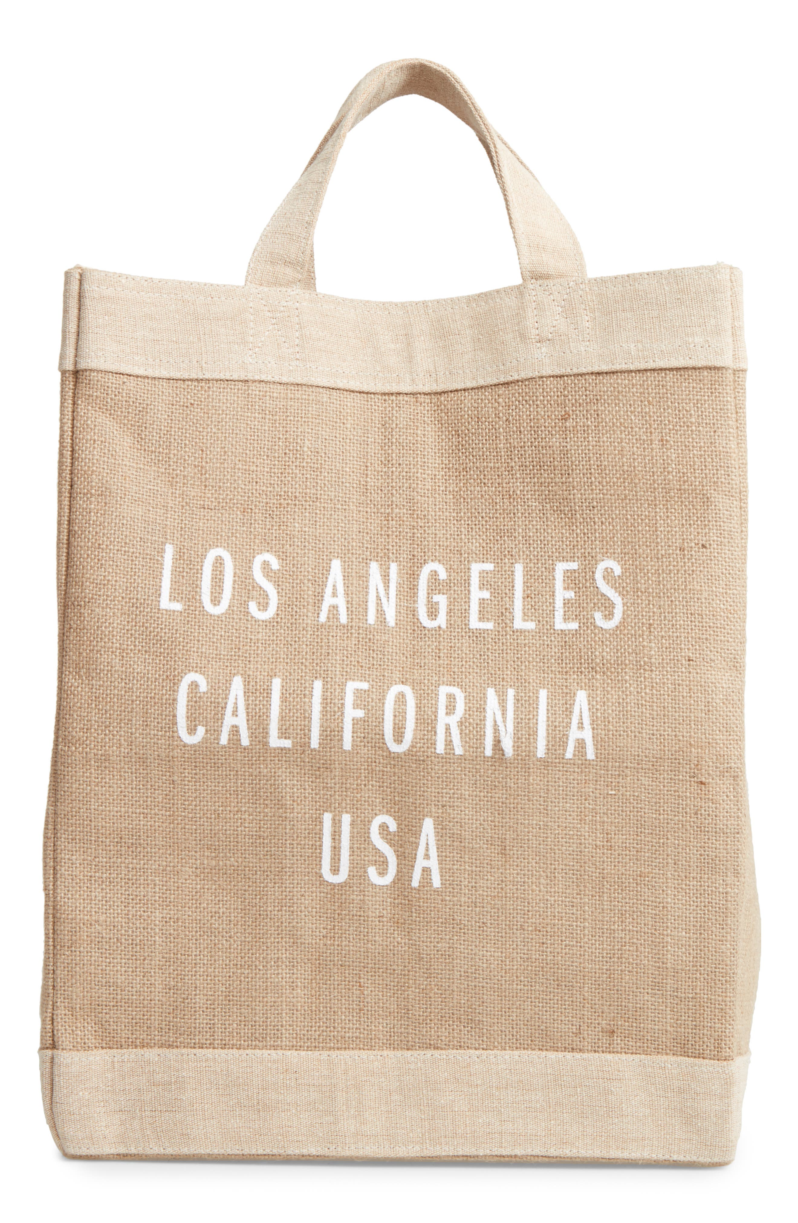 Los Angeles Simple Market Bag,                             Main thumbnail 1, color,                             200