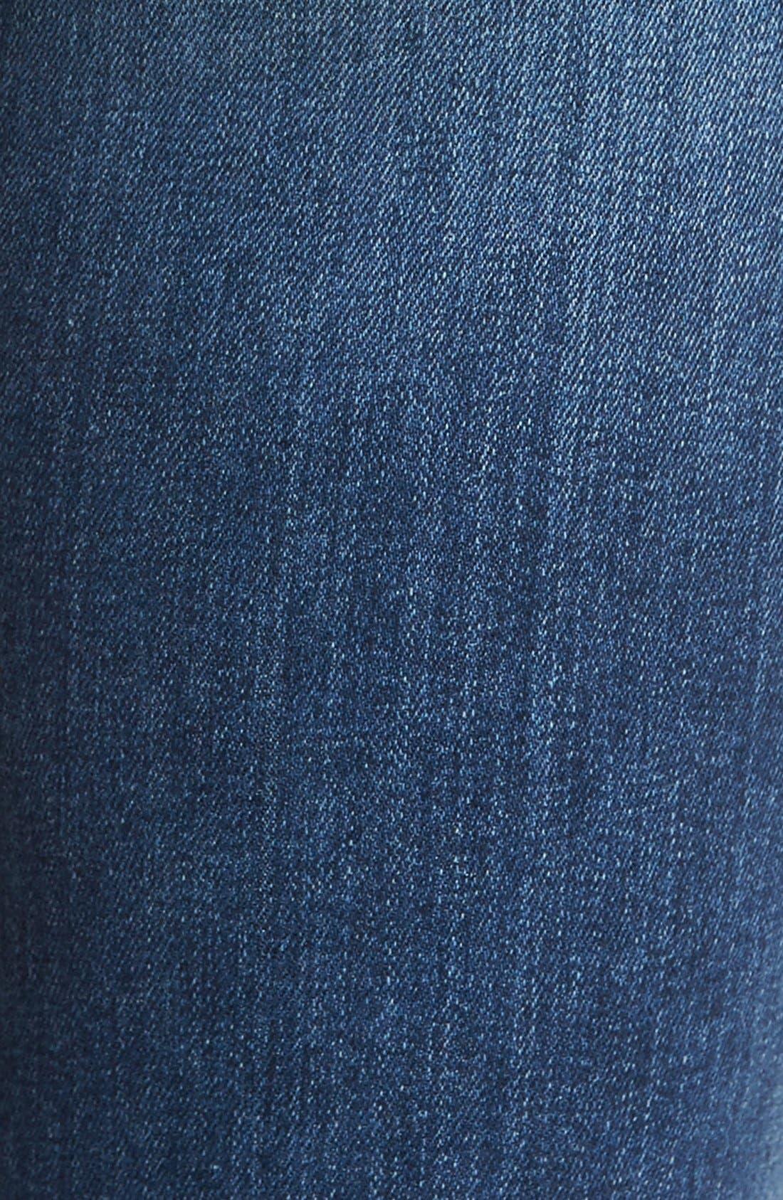 Cigarette Skinny Jeans,                             Alternate thumbnail 4, color,                             410