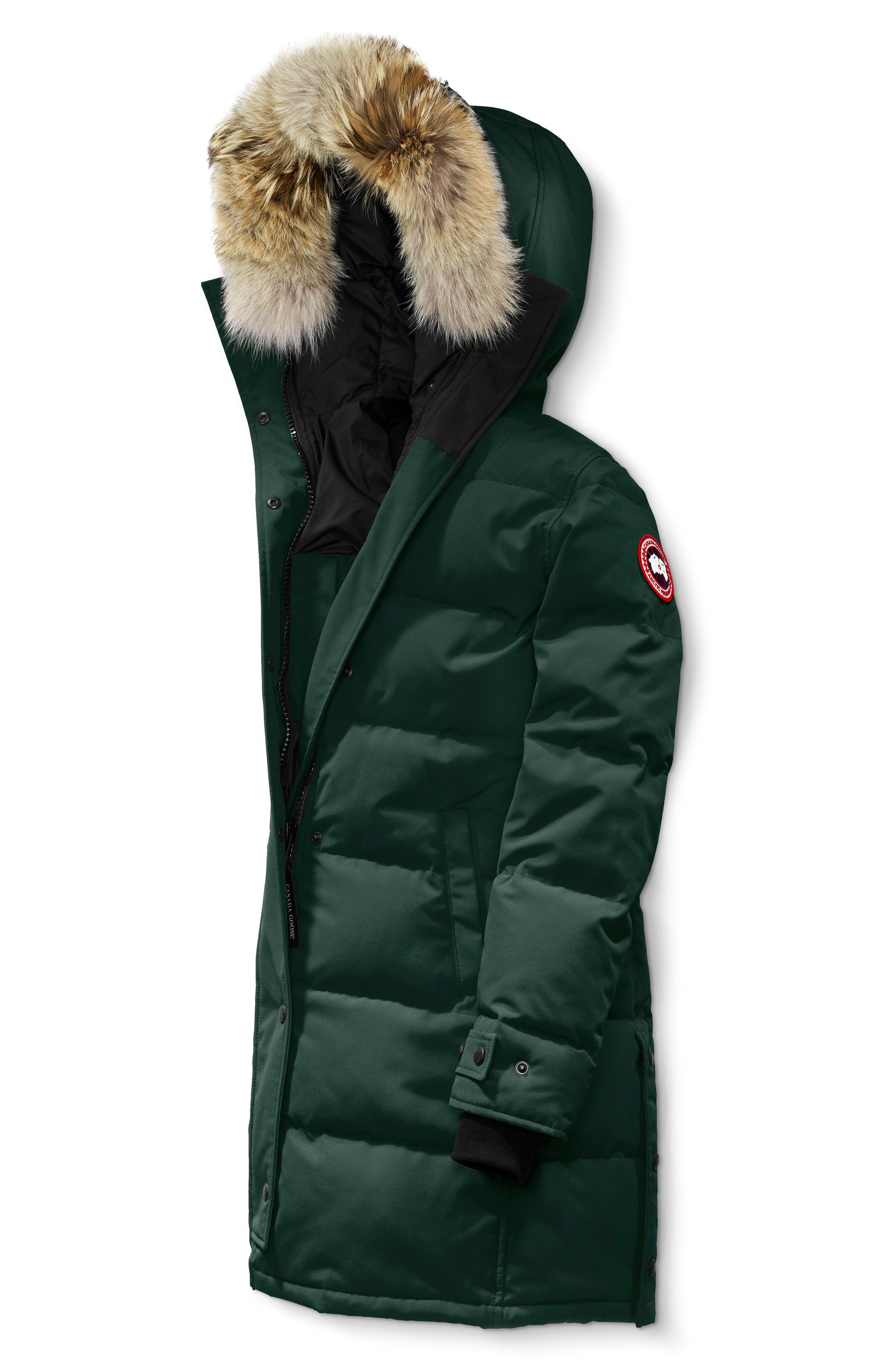 canada goose shelburne genuine coyote fur trim down parka nordstrom rh shop nordstrom com