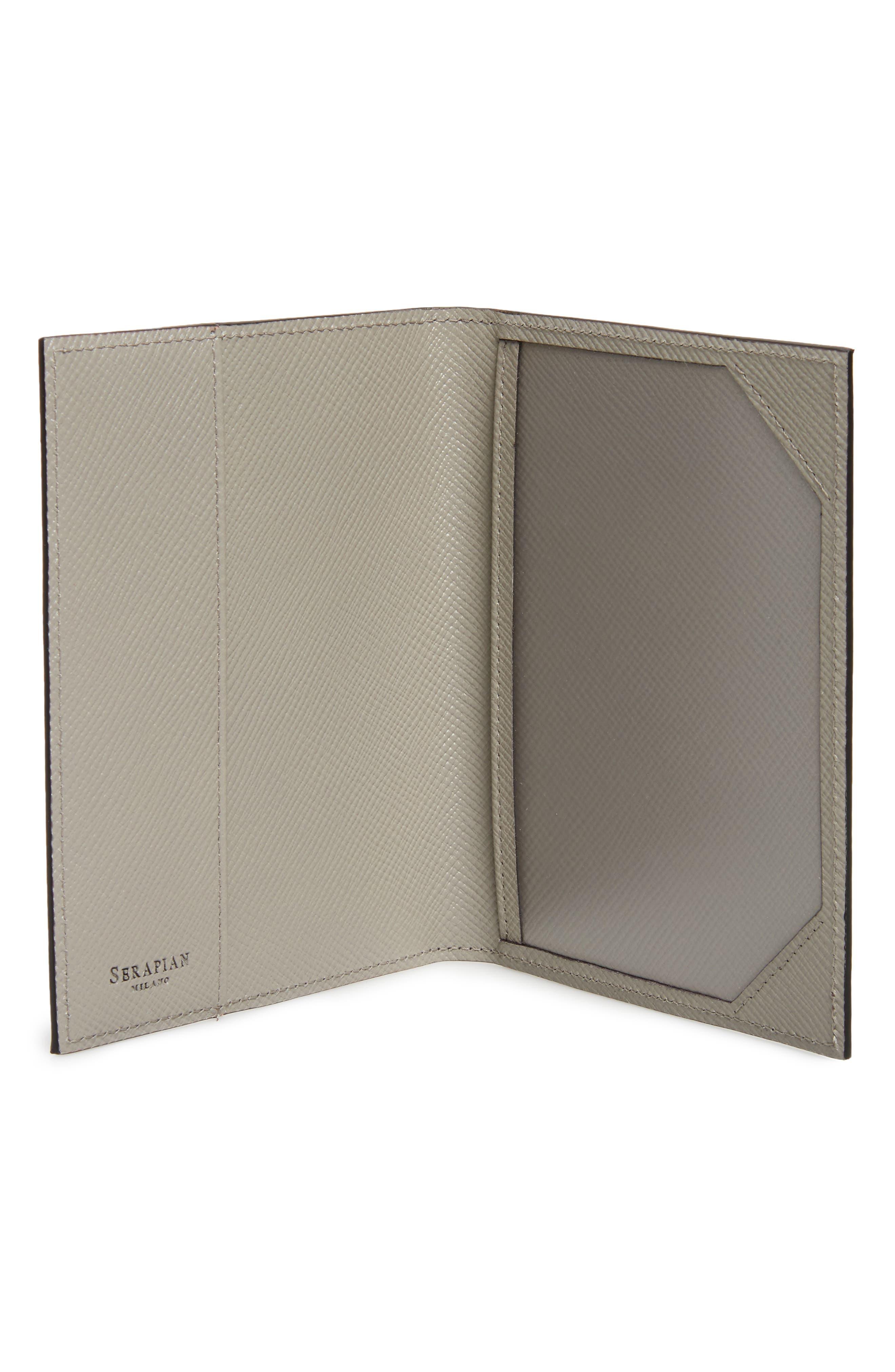 Evolution Leather Passport Case,                             Alternate thumbnail 2, color,                             020