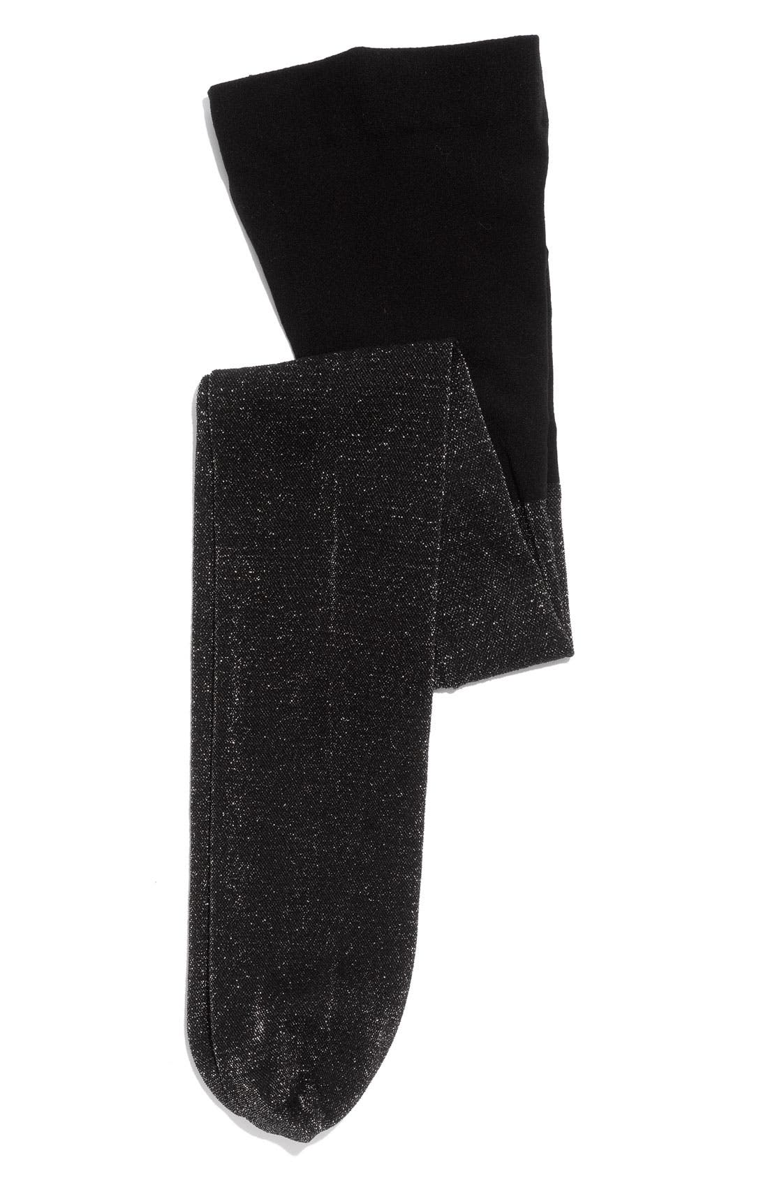 Glitter Tights, Main, color, 001