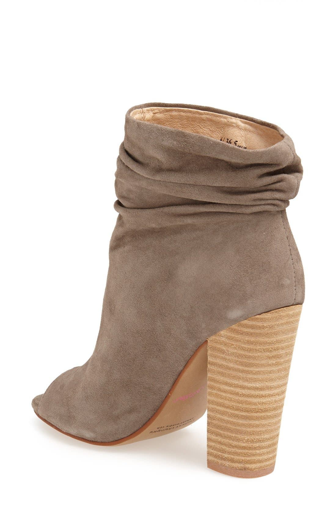 'Laurel' Peep Toe Bootie,                             Alternate thumbnail 17, color,
