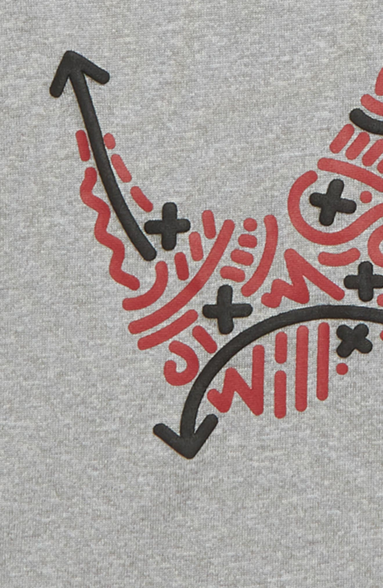 Dry Play Lines Swoosh T-Shirt,                             Alternate thumbnail 2, color,                             088