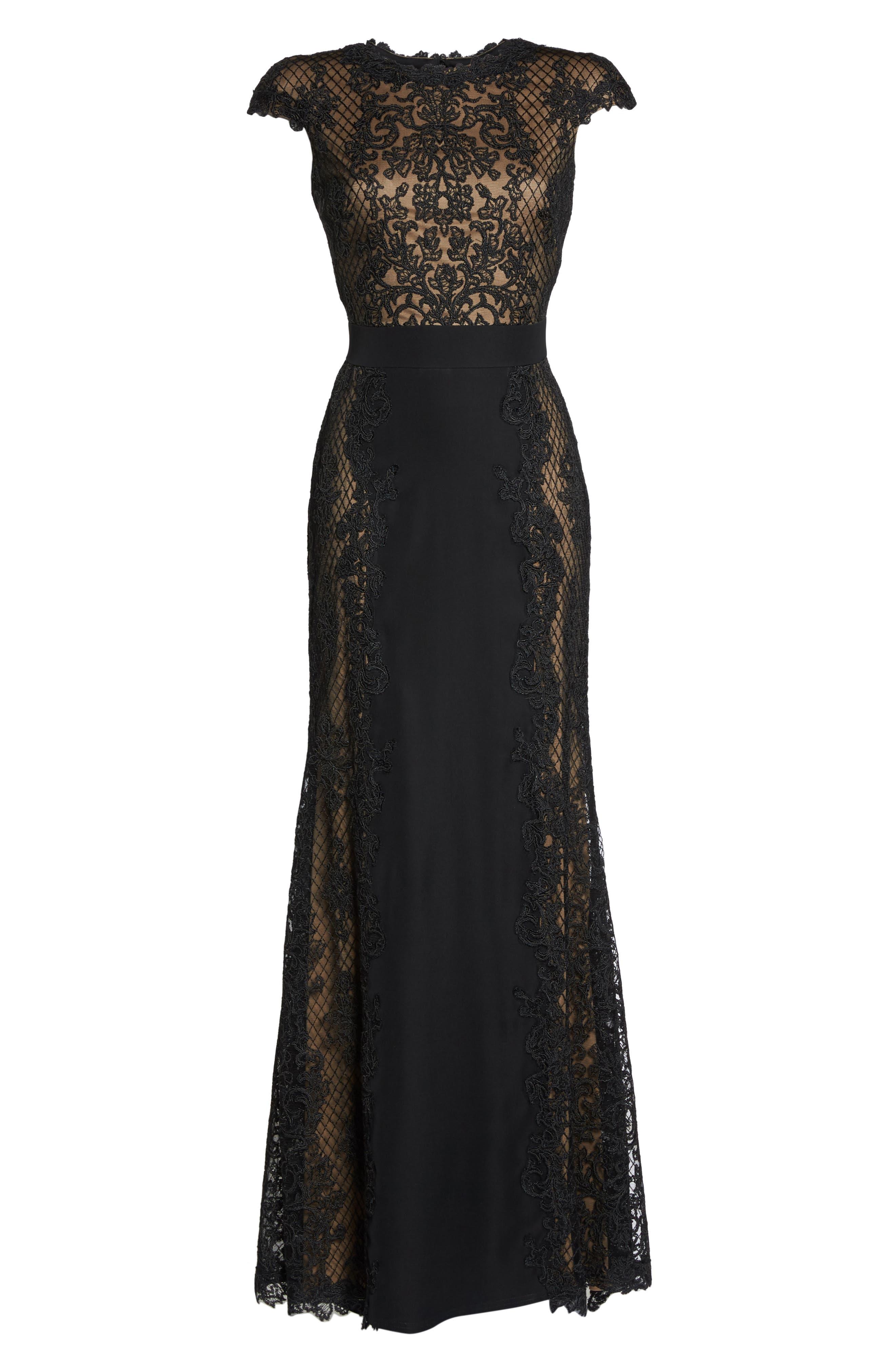 Lace Gown,                             Alternate thumbnail 6, color,                             005