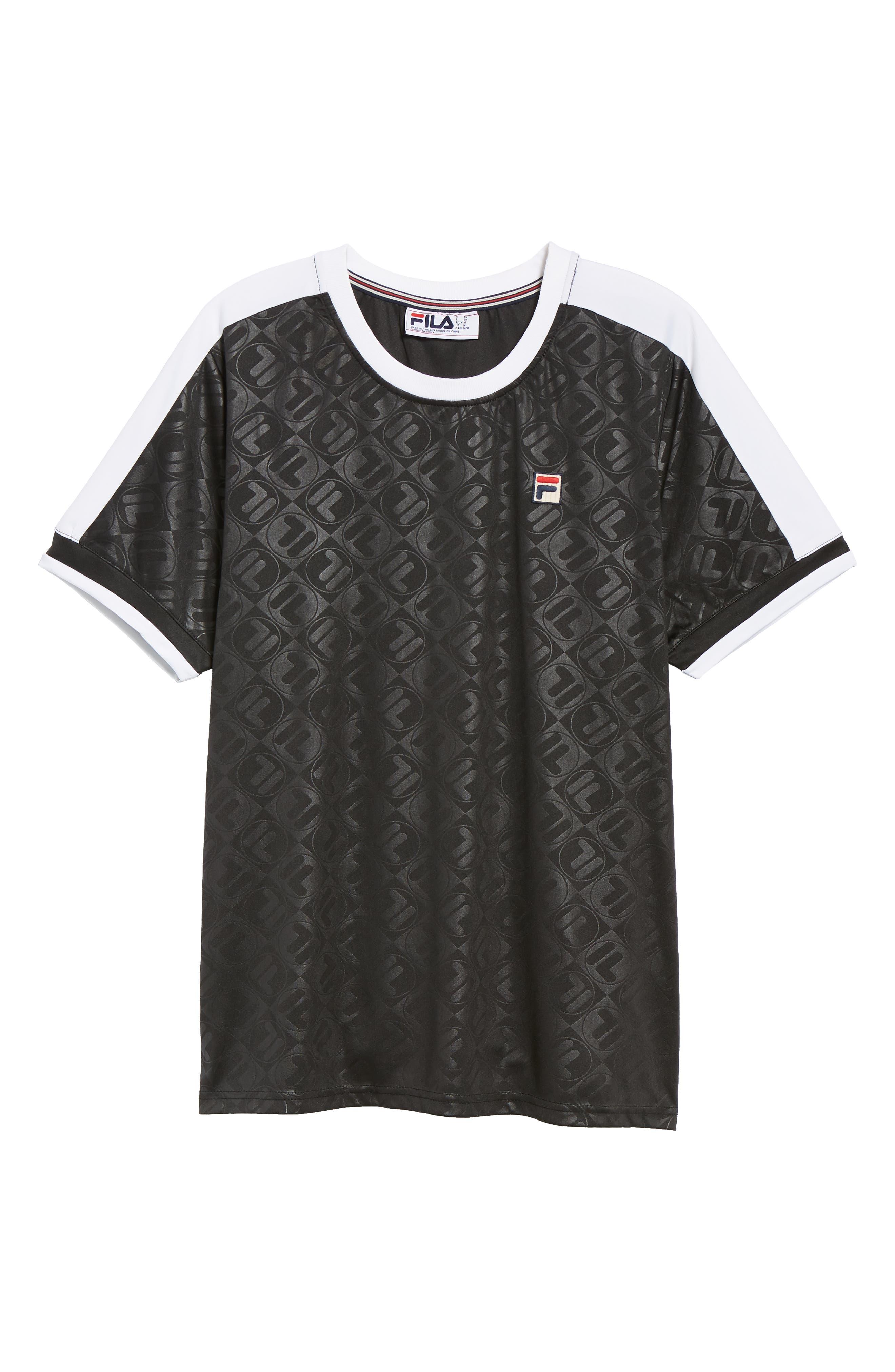Marc Interlock Soccer T-Shirt,                             Alternate thumbnail 6, color,                             001