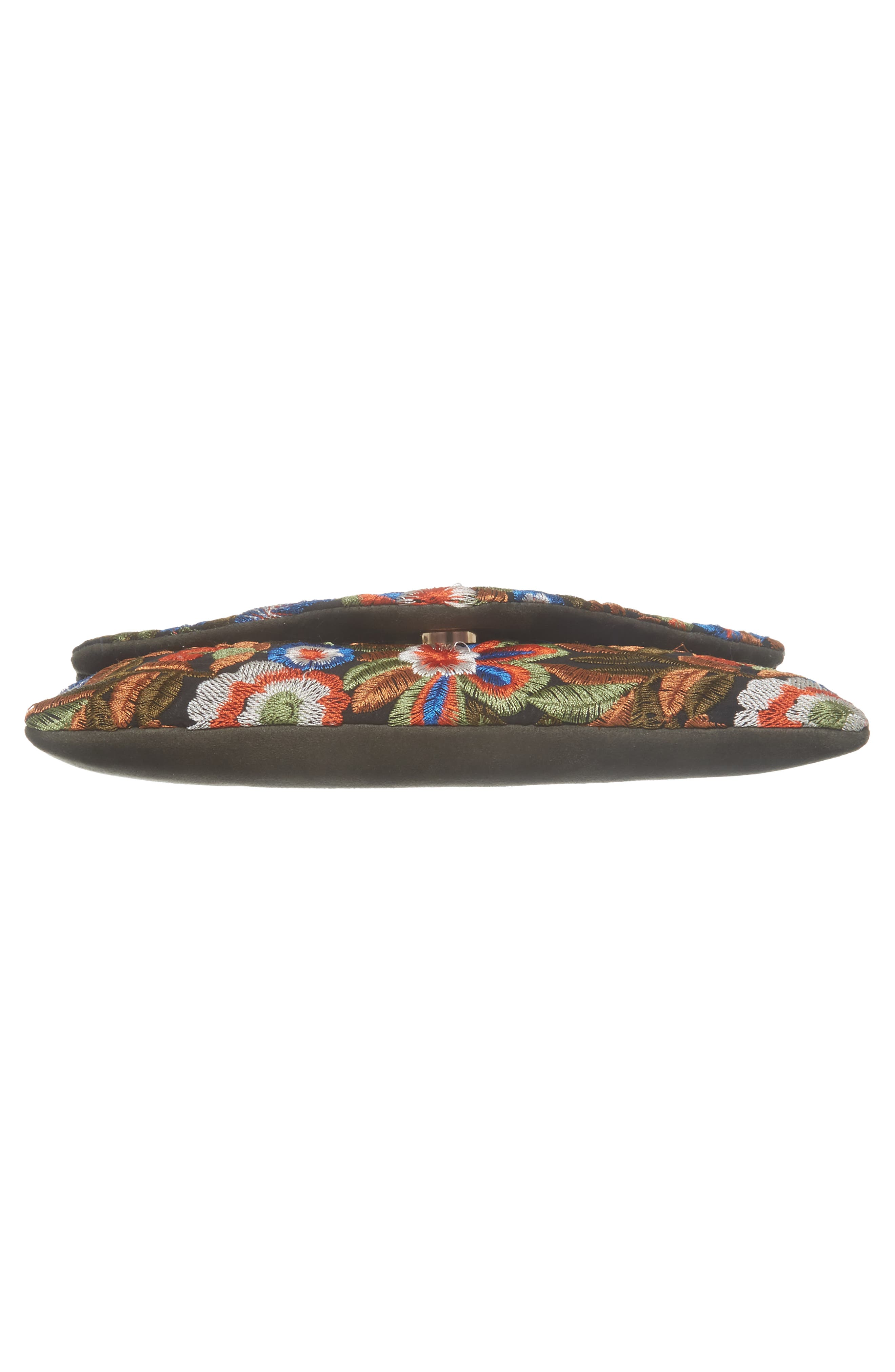 Embroidered Envelope Clutch,                             Alternate thumbnail 6, color,                             461
