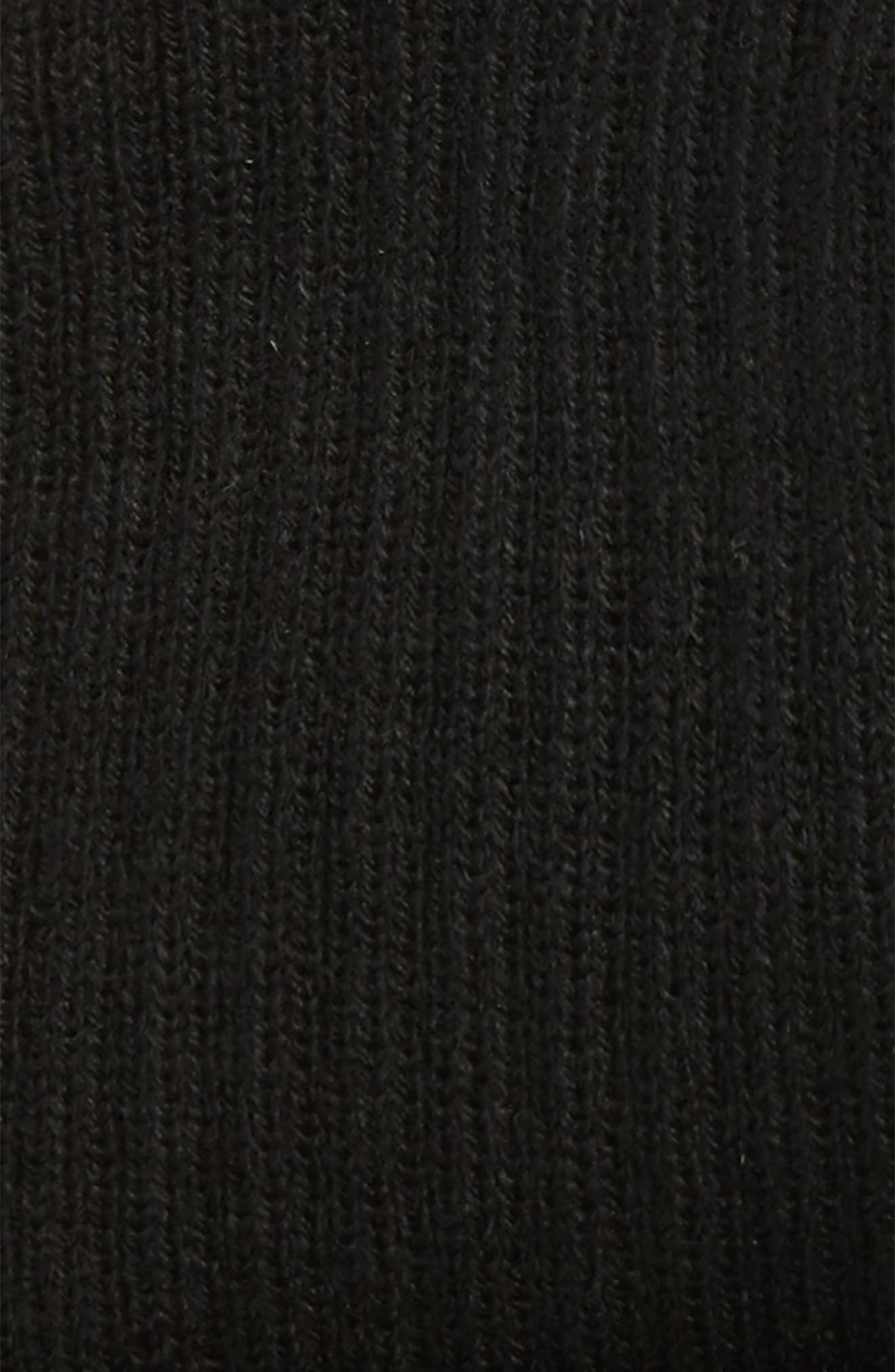 Wide Rib Knit Beanie,                             Alternate thumbnail 5, color,