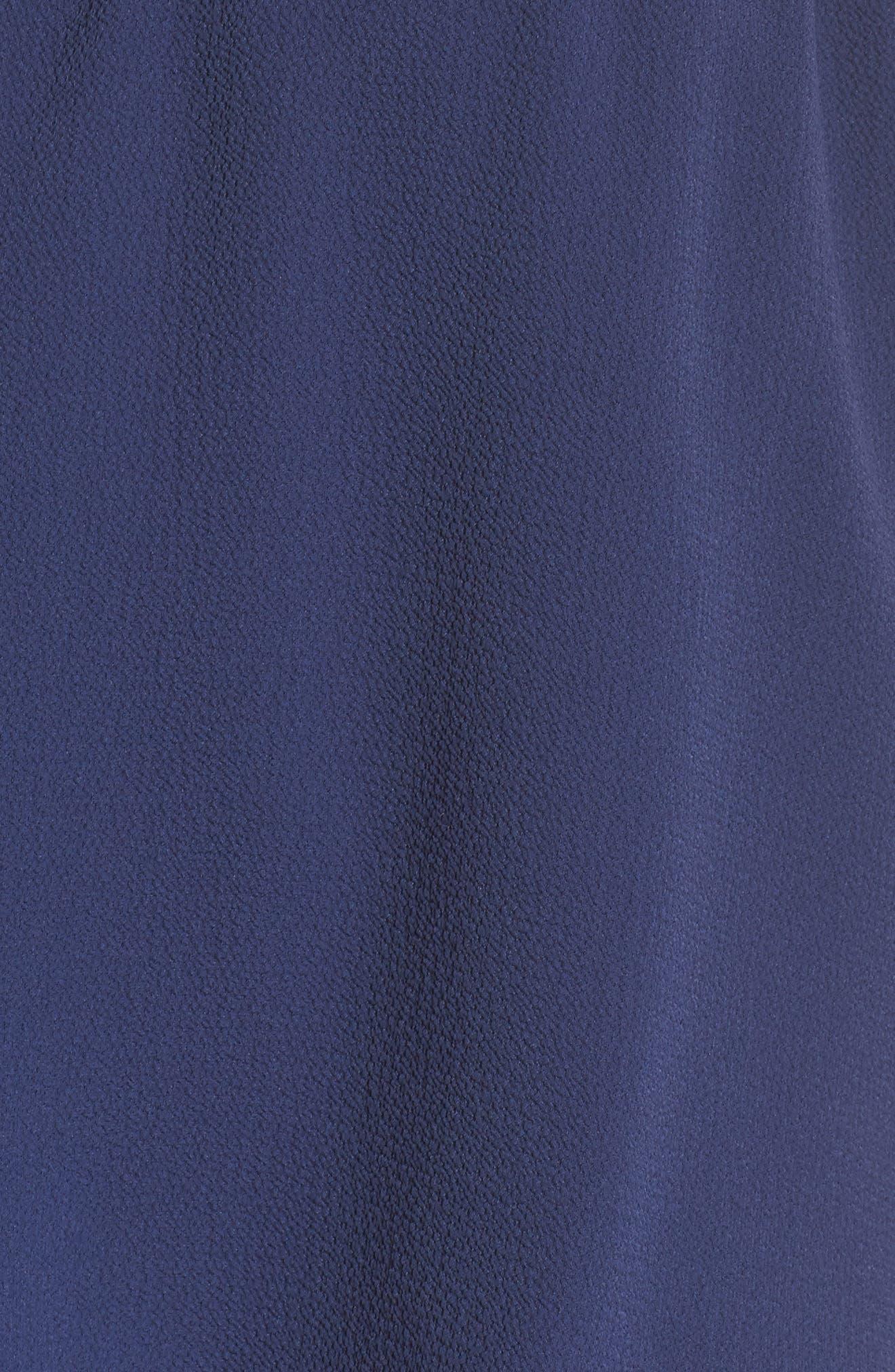 Strapless Popover Shift Dress,                             Alternate thumbnail 6, color,                             413