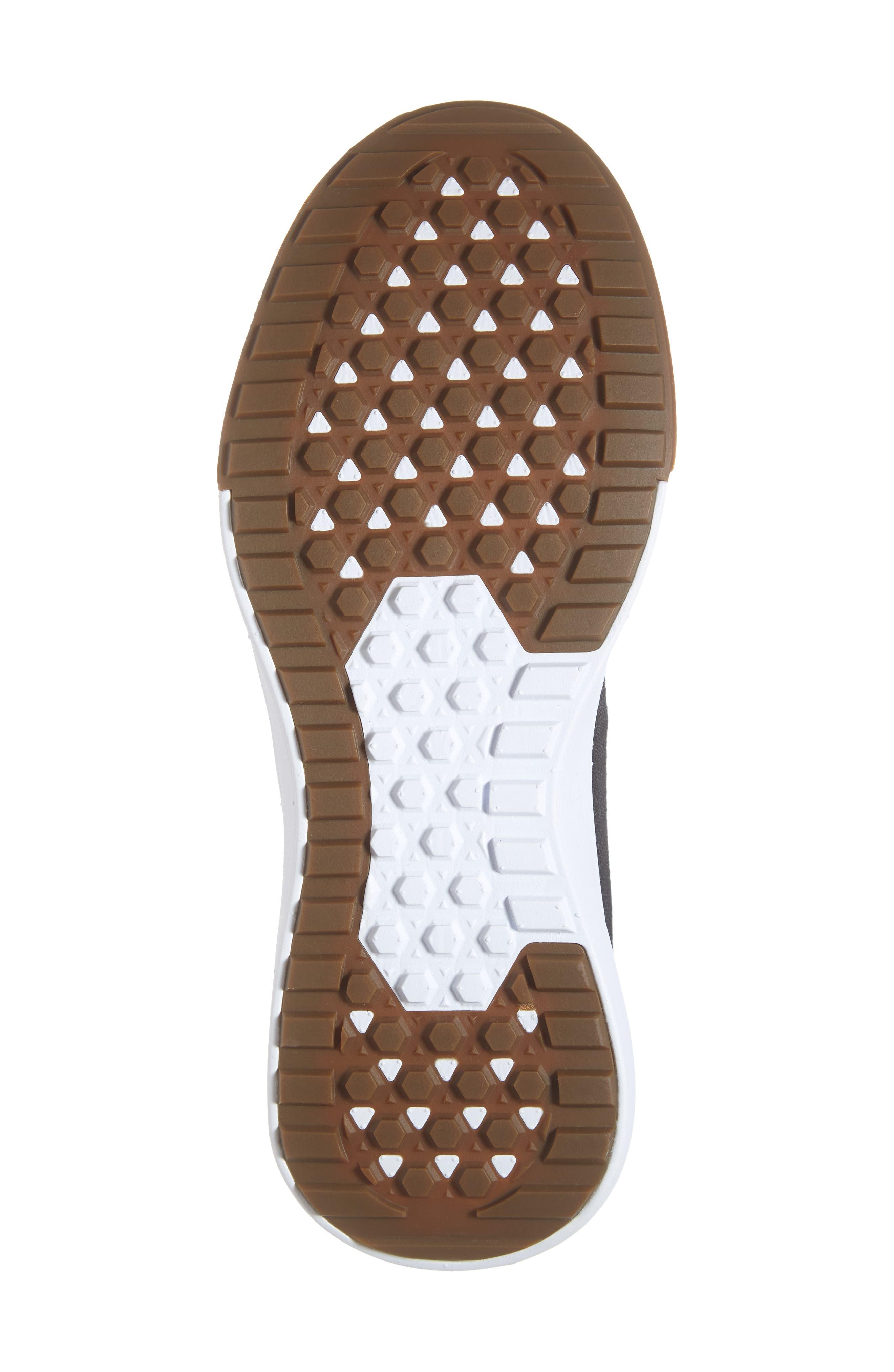 Ultrarange Rapidwield Sneaker,                             Alternate thumbnail 6, color,                             BLACK/ WHITE MESH