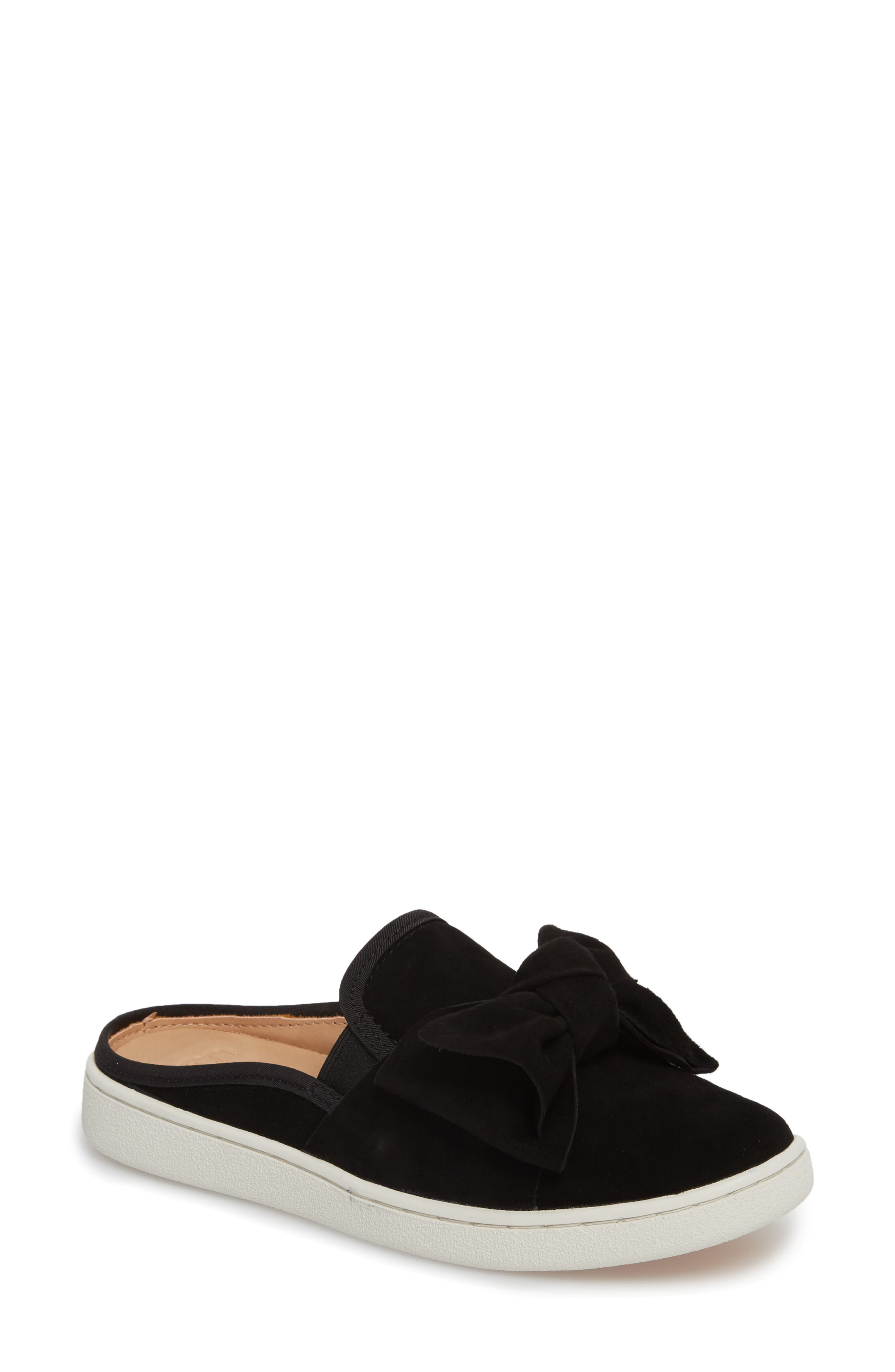 Luci Bow Sneaker Mule,                         Main,                         color, 001
