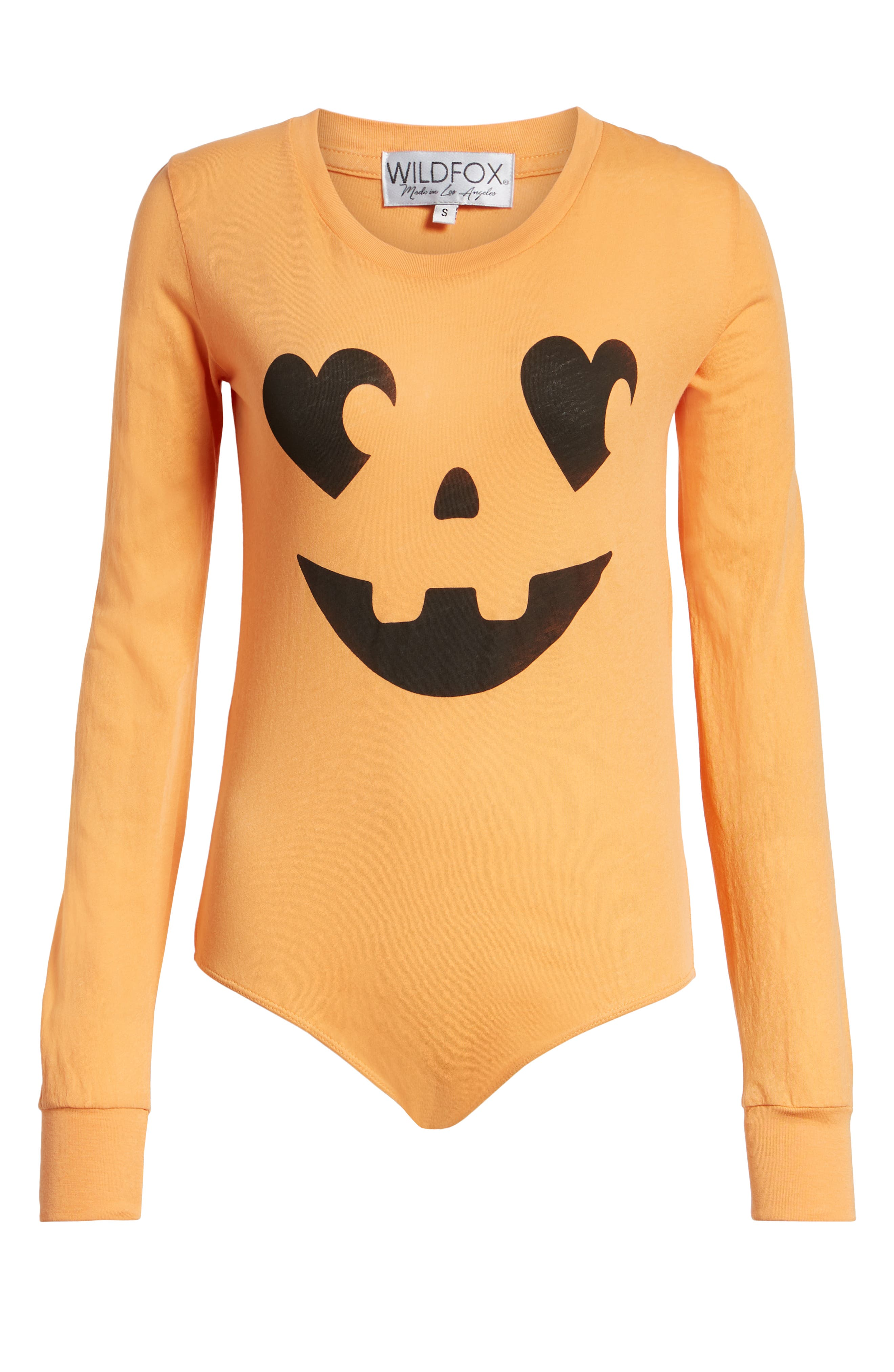 WILDFOX,                             Jack O' Heart Bodysuit,                             Alternate thumbnail 6, color,                             820