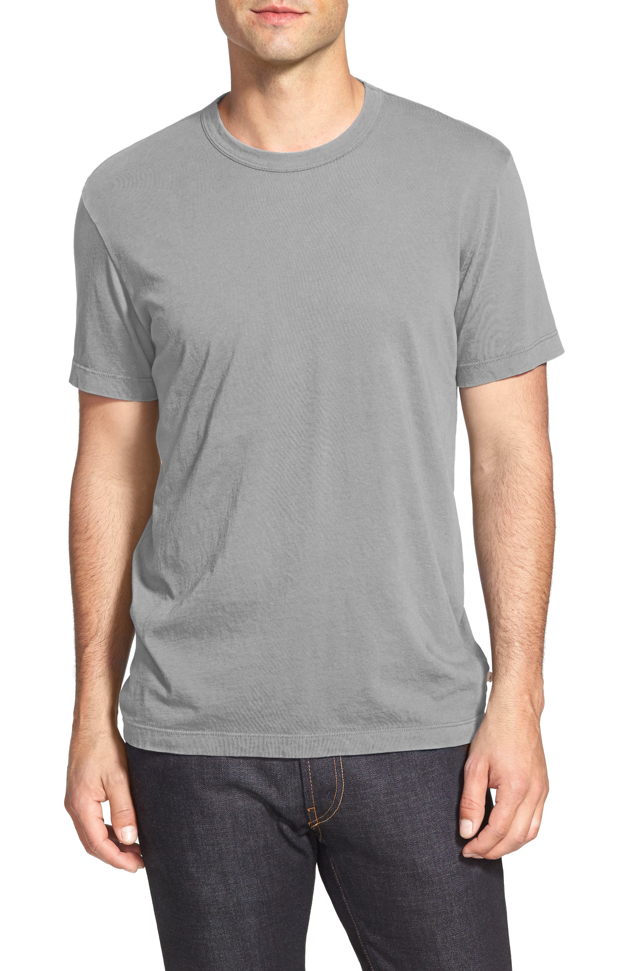 Crewneck Jersey T-Shirt,                             Alternate thumbnail 163, color,