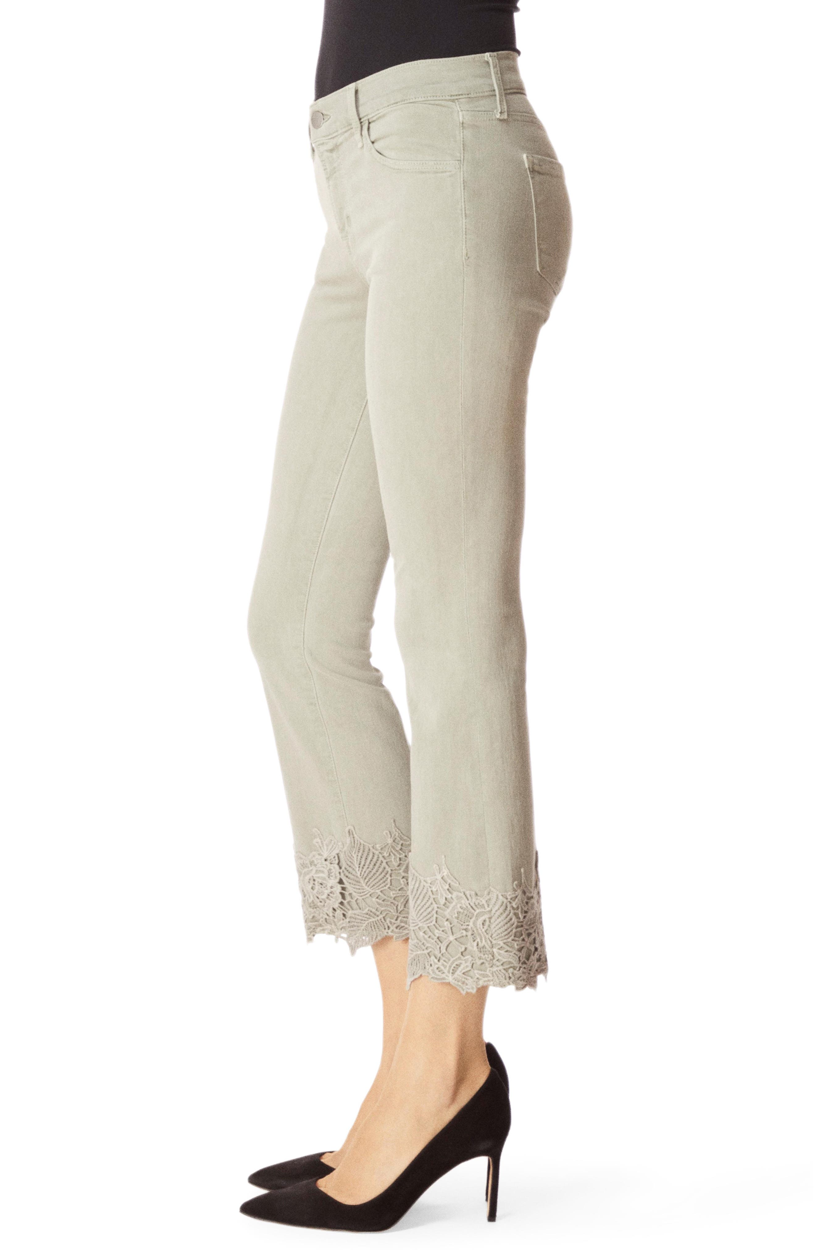 J BRAND,                             Selena Crop Bootcut Jeans,                             Alternate thumbnail 3, color,                             FADED GIBSON